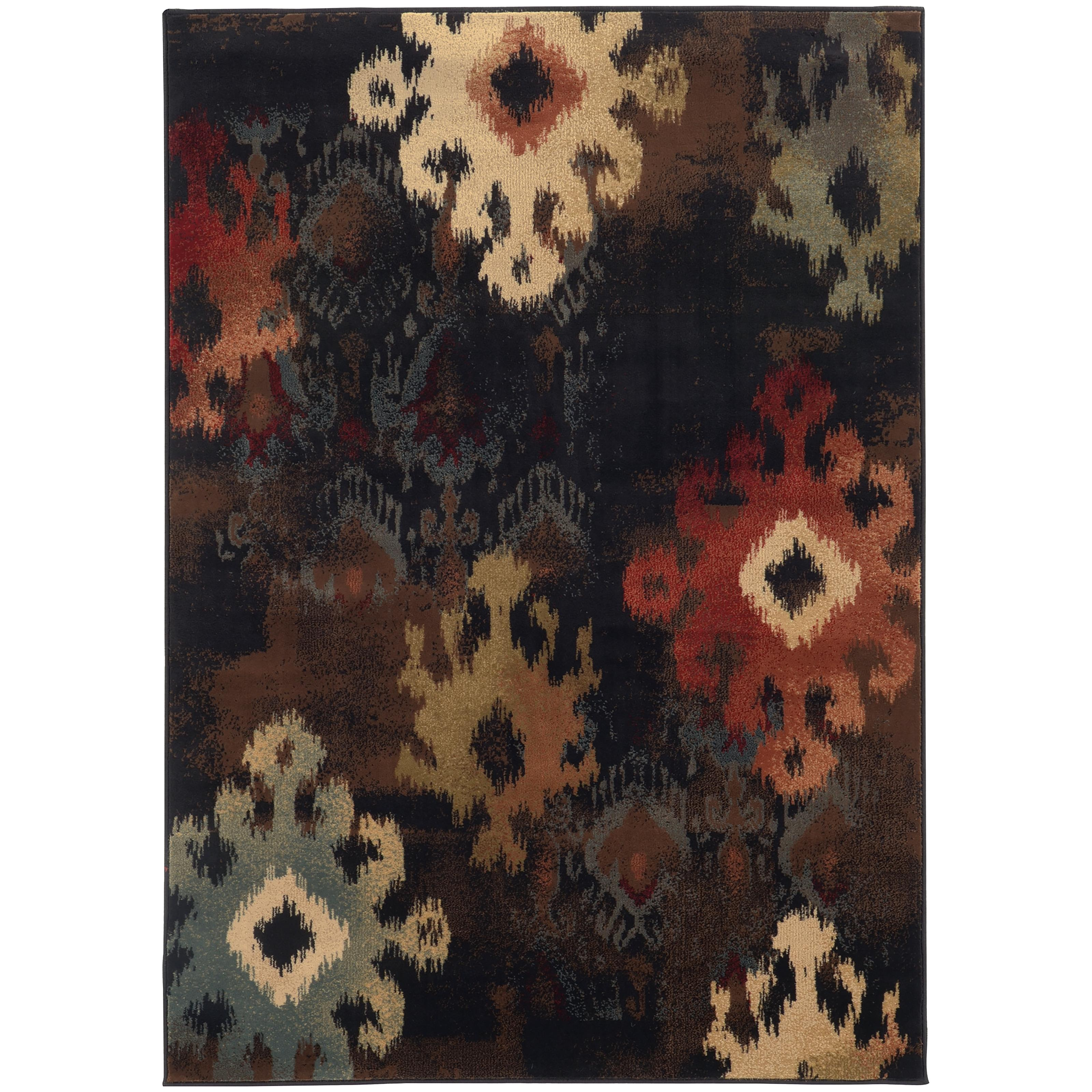 "Oriental Weavers Hudson 3'10"" X  5' 5"" Rug - Item Number: H4874B117165ST"