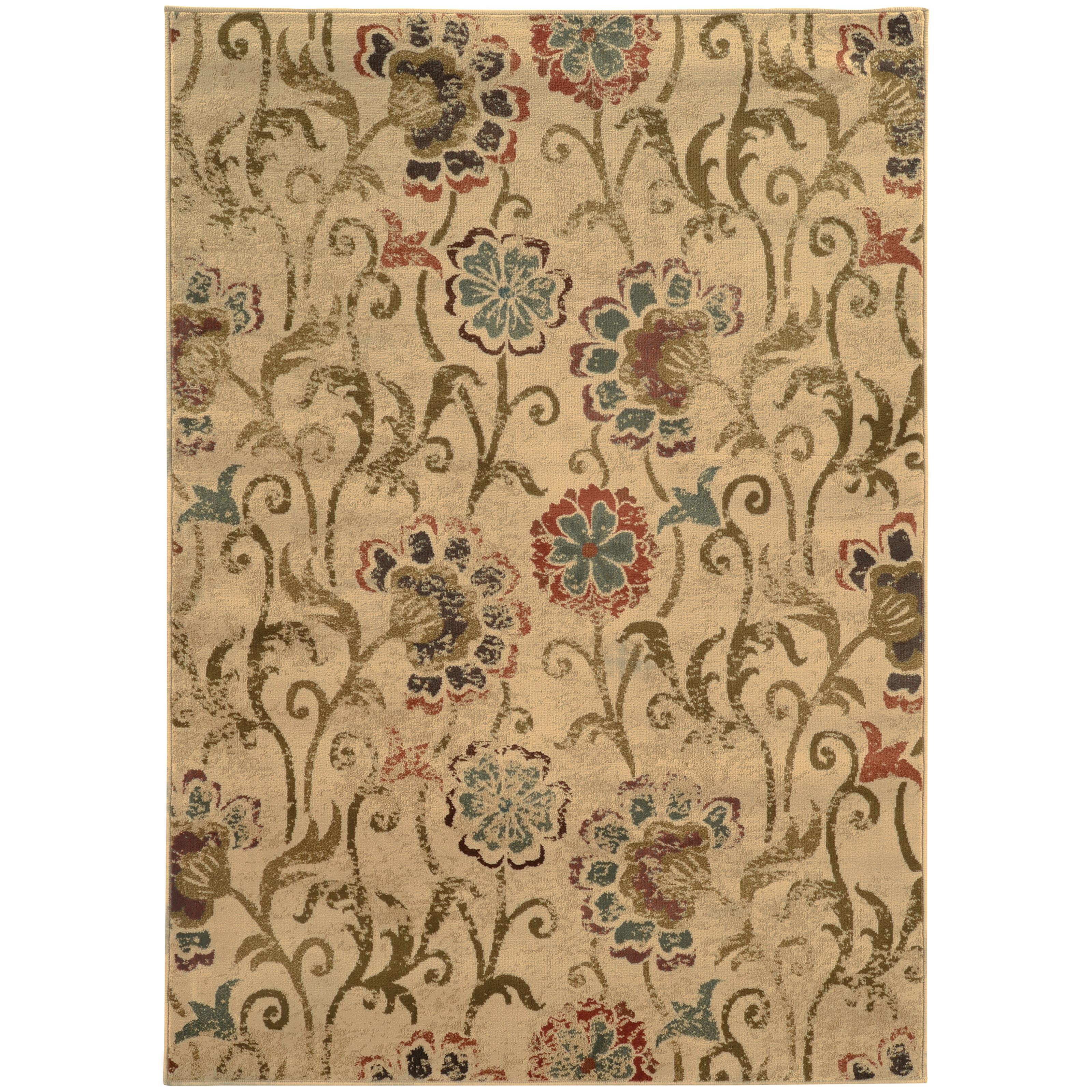 "Oriental Weavers Hudson 3'10"" X  5' 5"" Rug - Item Number: H4877B117165ST"