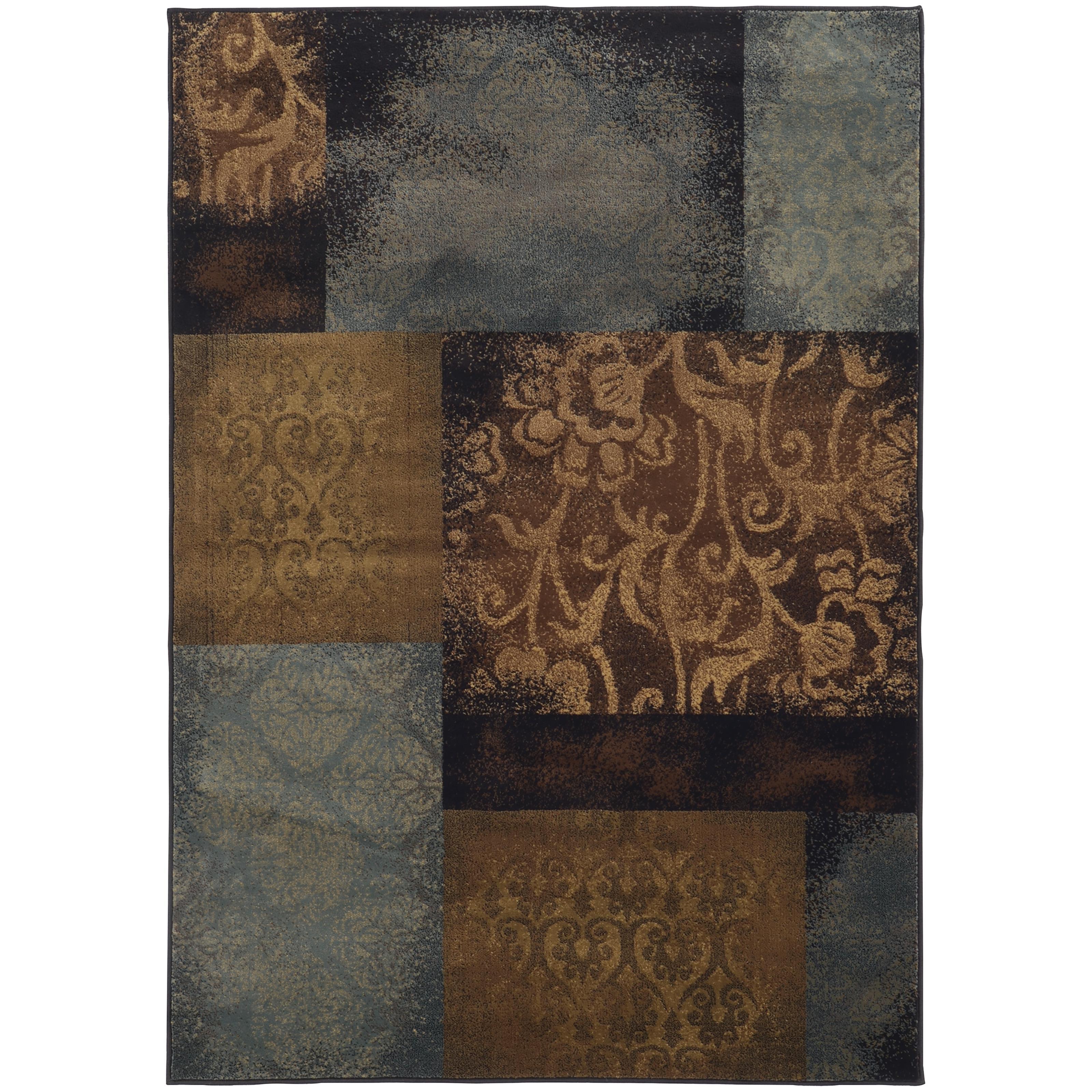 "Oriental Weavers Hudson 3'10"" X  5' 5"" Rug - Item Number: H4878B117165ST"