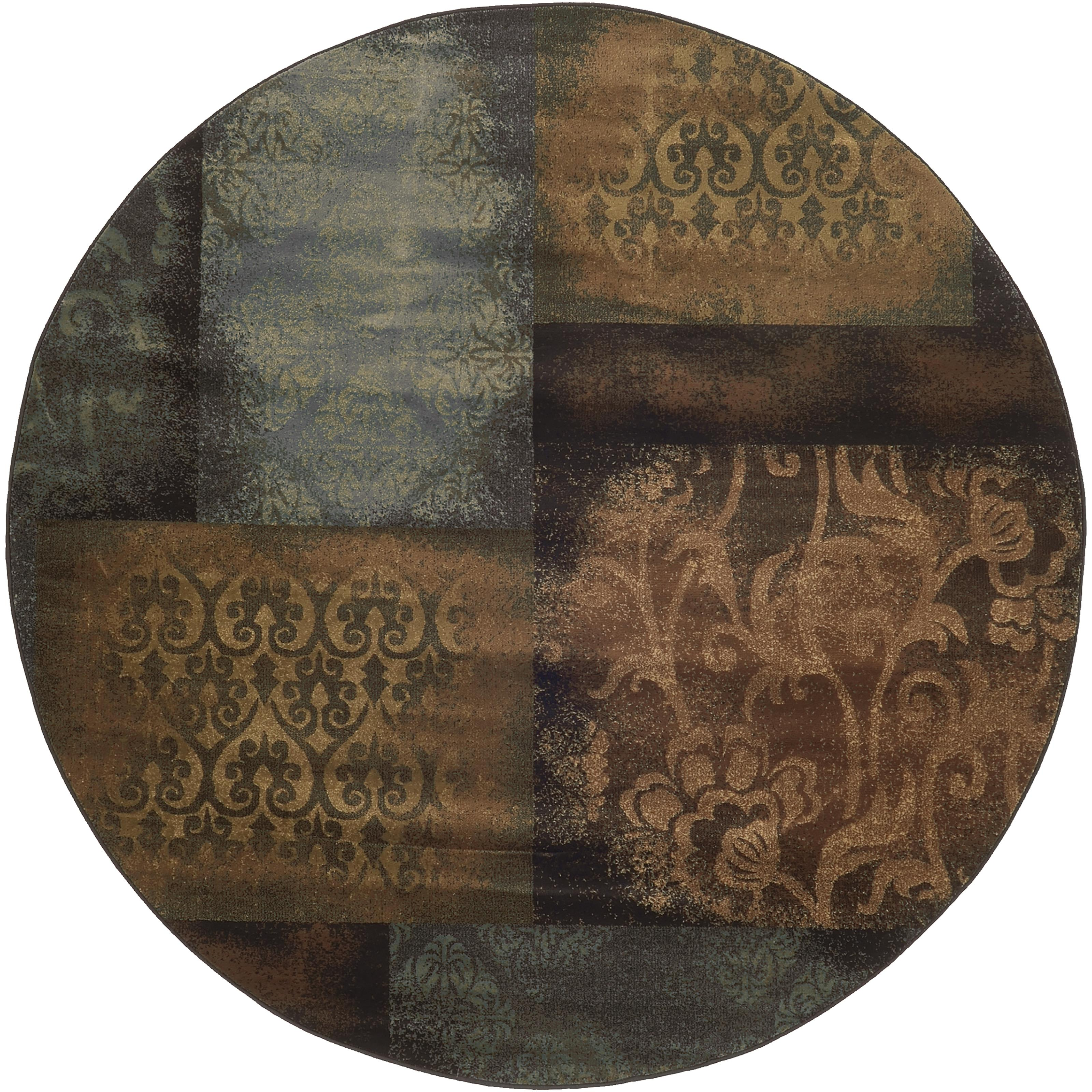 "Oriental Weavers Hudson 7' 8"" Rug - Item Number: H4878B235RDST"