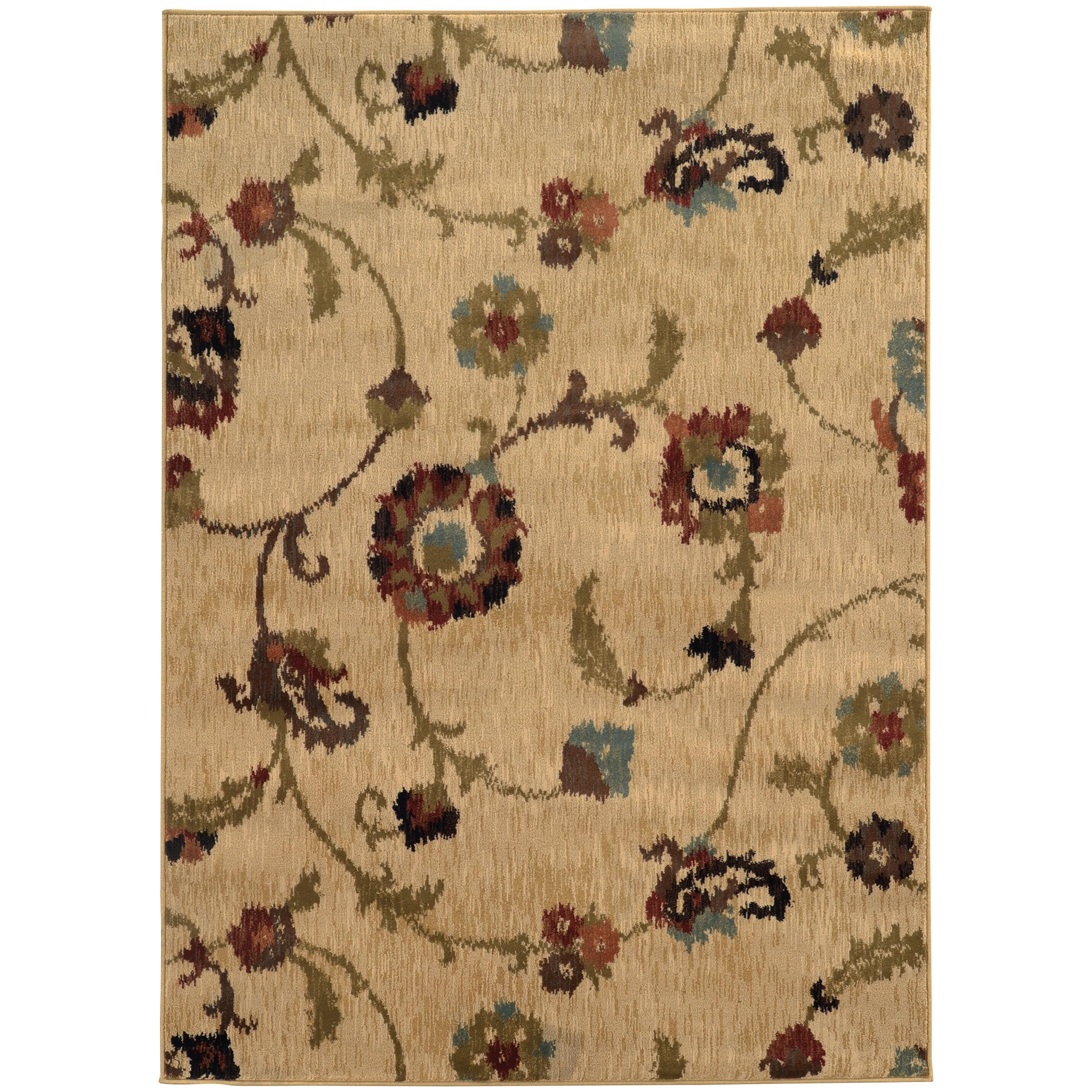 "Oriental Weavers Hudson 3'10"" X  5' 5"" Rug - Item Number: H4887B117165ST"