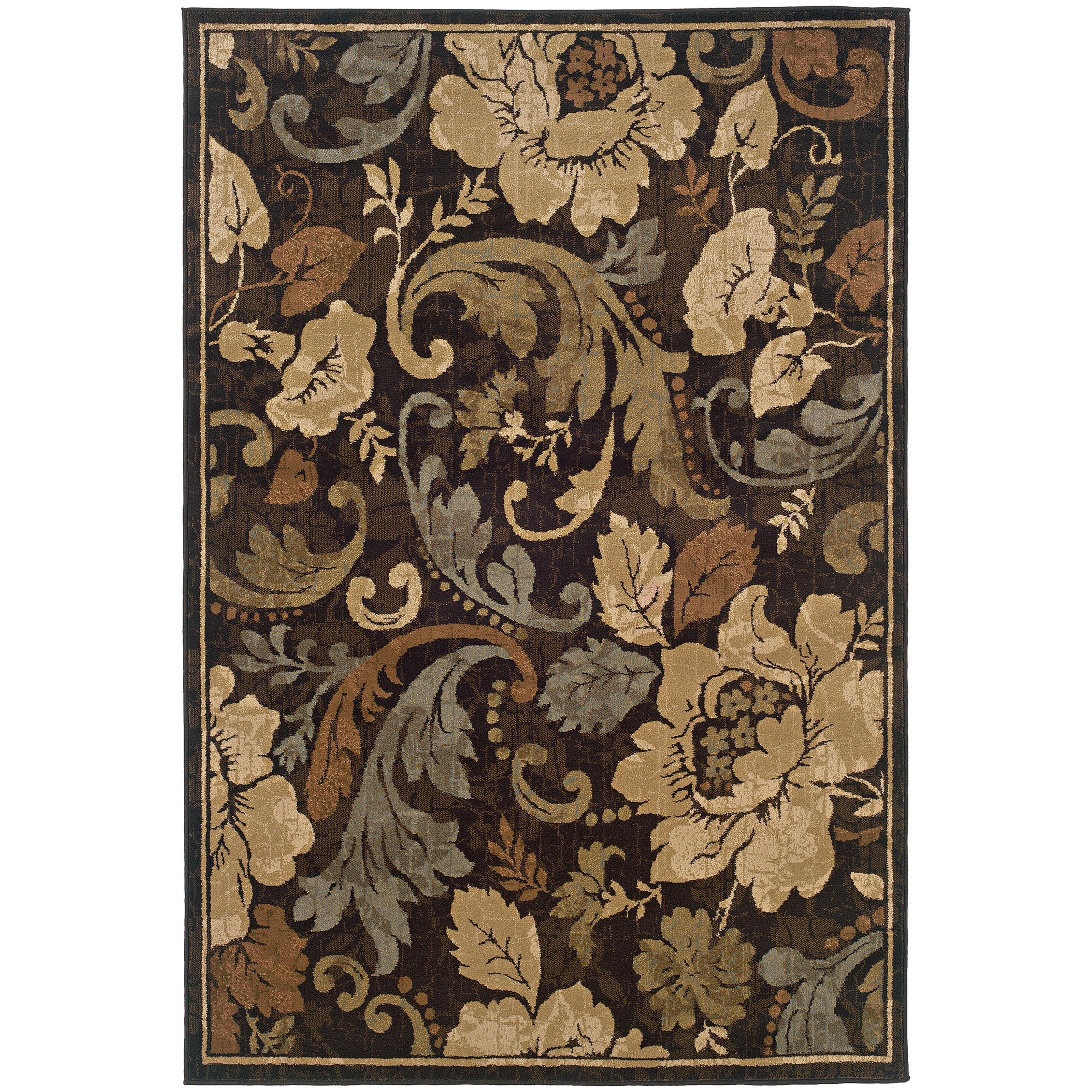 "Oriental Weavers Huntington 5' 0"" X  7' 6"" Rug - Item Number: H1279E152229ST"
