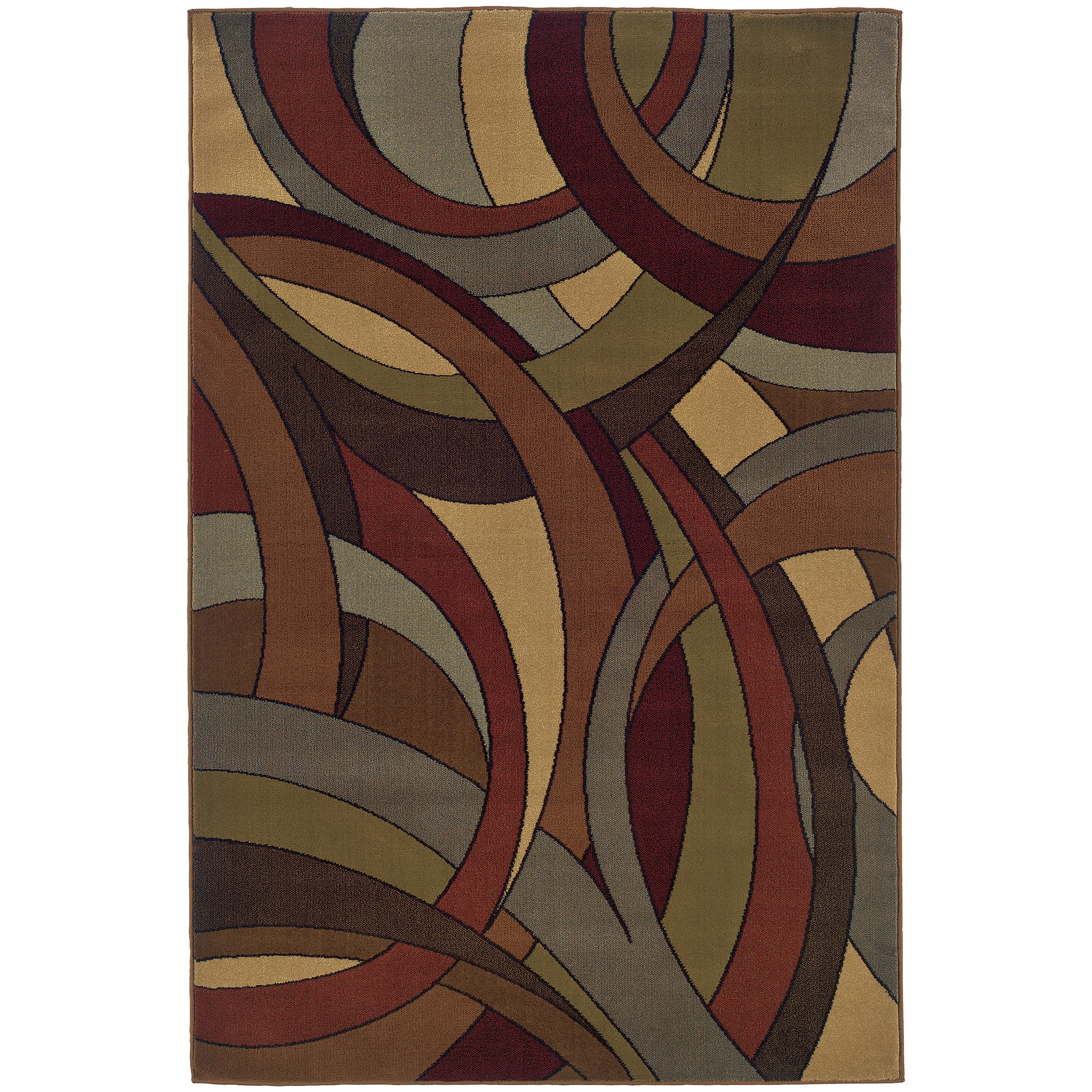 "Oriental Weavers Huntington 5' 0"" X  7' 6"" Rug - Item Number: H1982A152229ST"