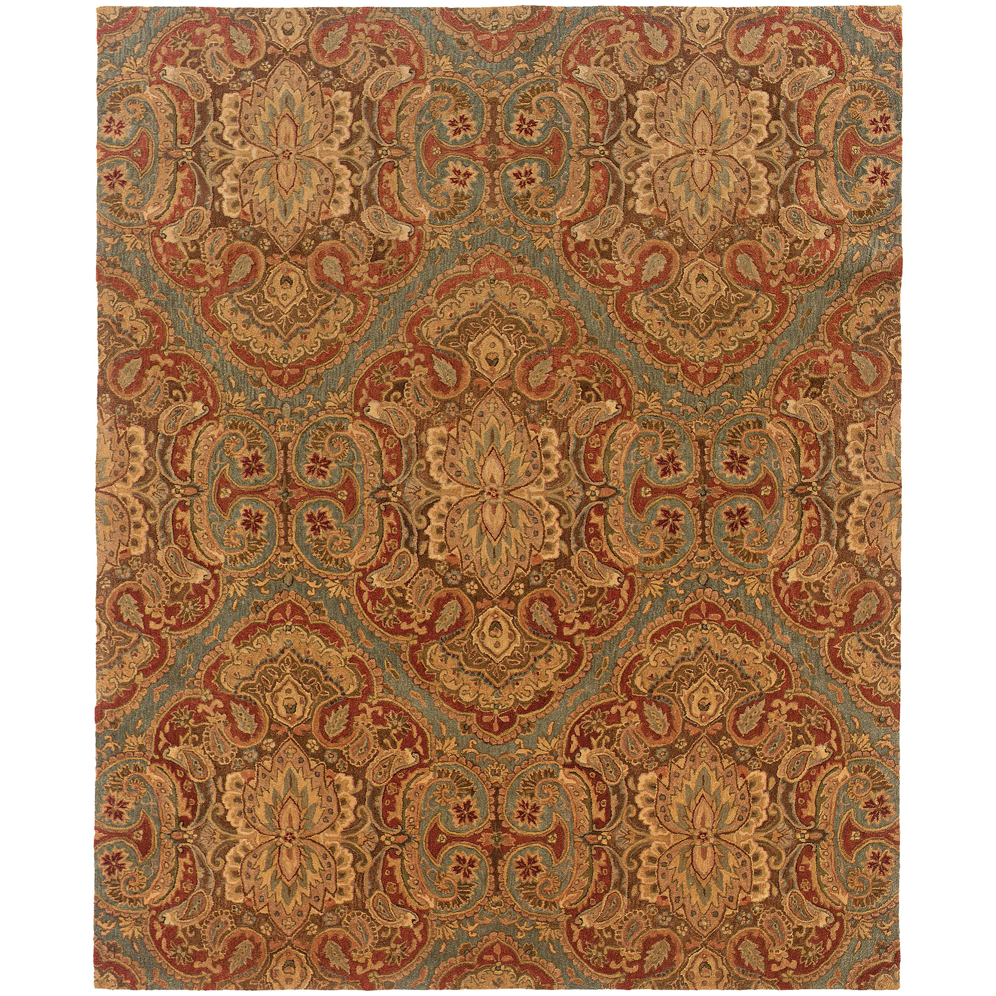 """Oriental Weavers Huntley 3' 6"""" X  5' 6"""" Rug - Item Number: H19101107168ST"""