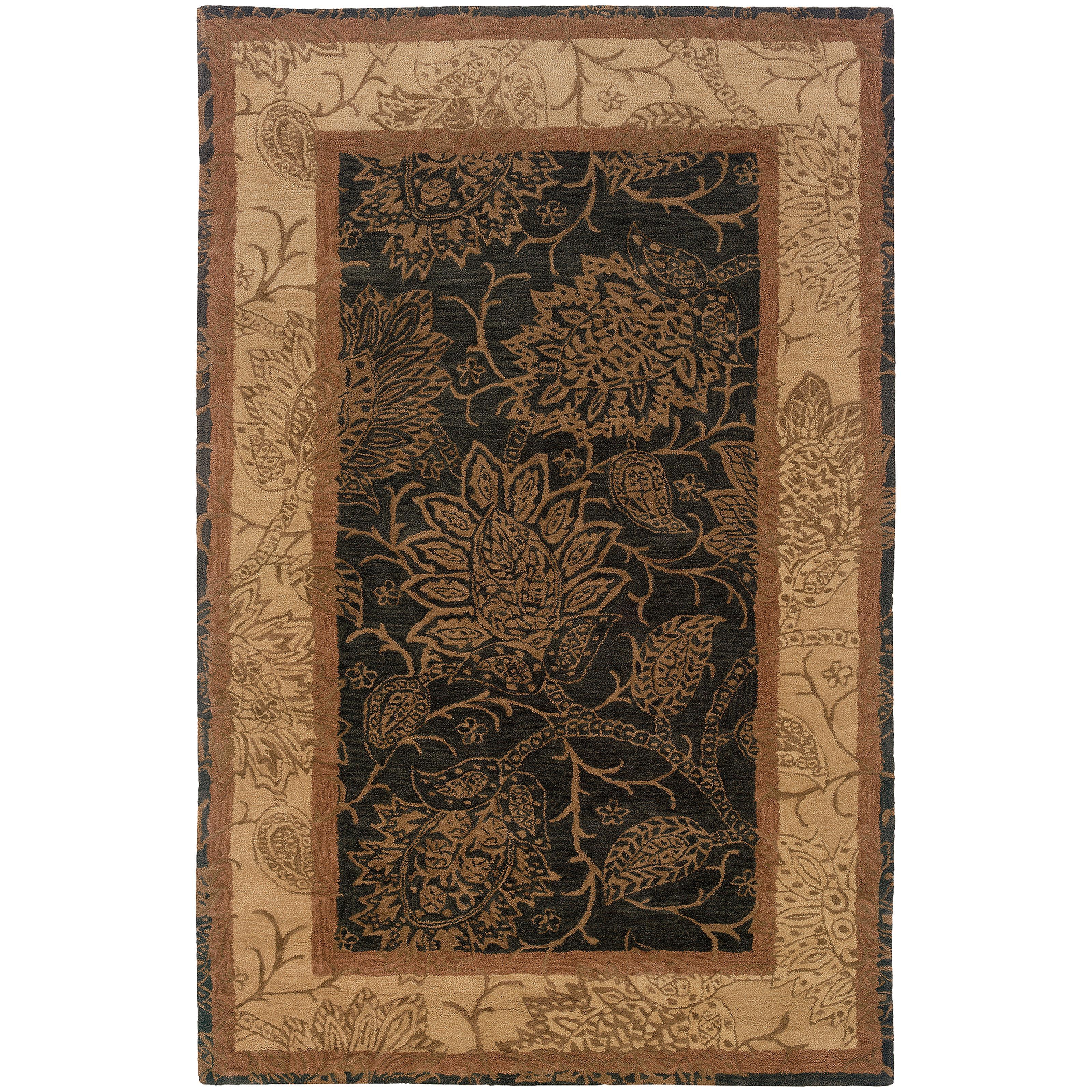 """Oriental Weavers Huntley 3' 6"""" X  5' 6"""" Rug - Item Number: H19107107168ST"""