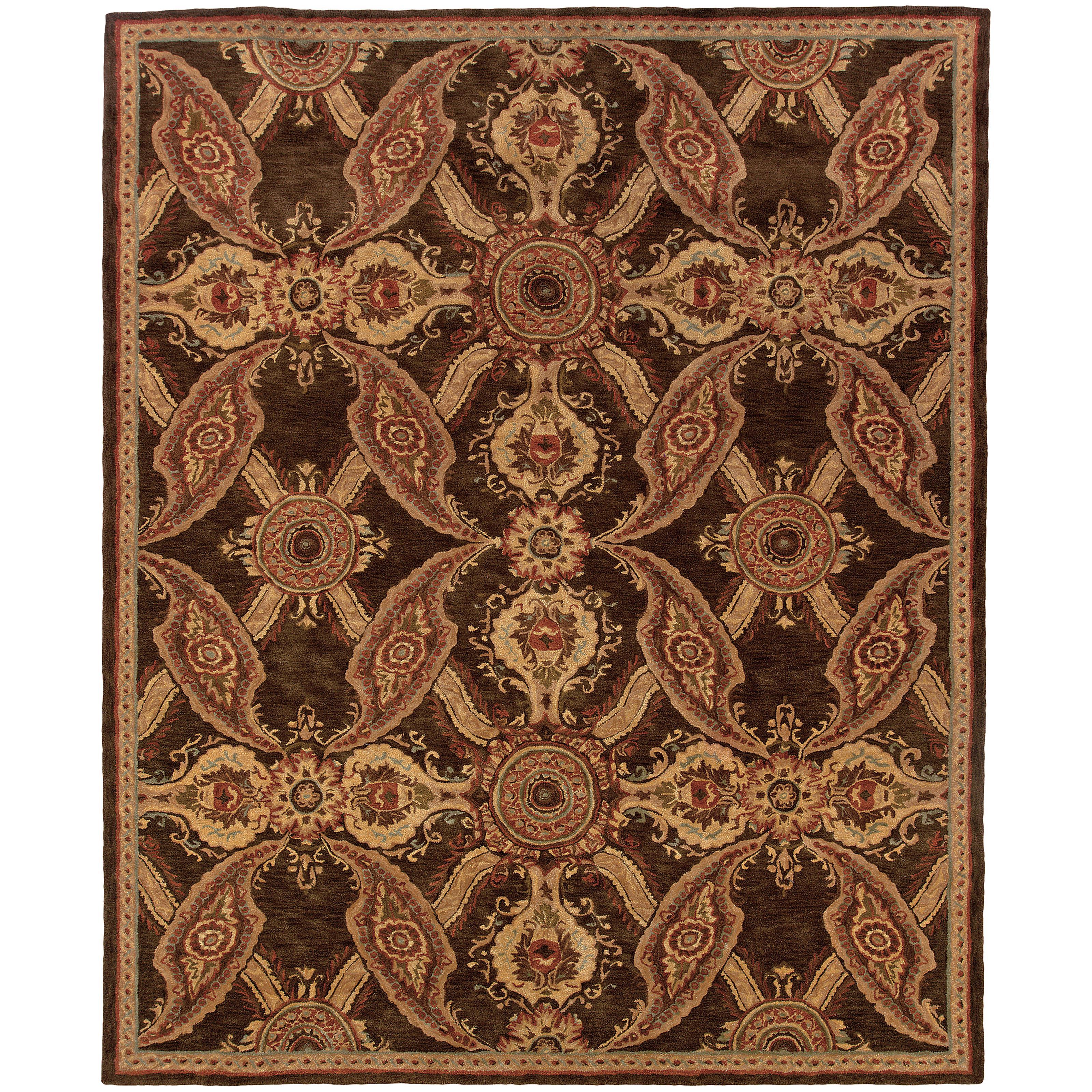 """Oriental Weavers Huntley 3' 6"""" X  5' 6"""" Rug - Item Number: H19112107168ST"""
