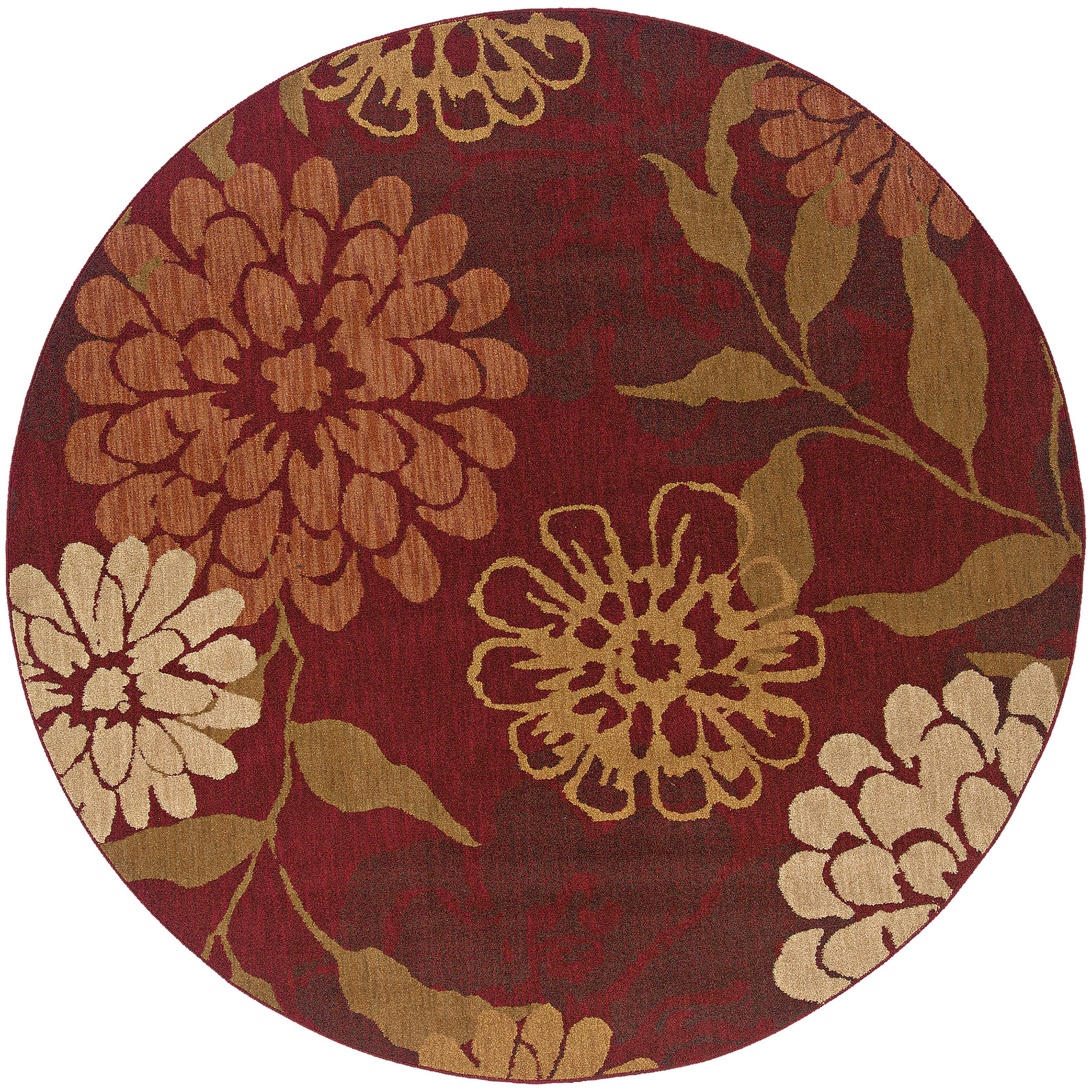 """Oriental Weavers Infinity 7' 8"""" Rug - Item Number: 1134D235RDST"""