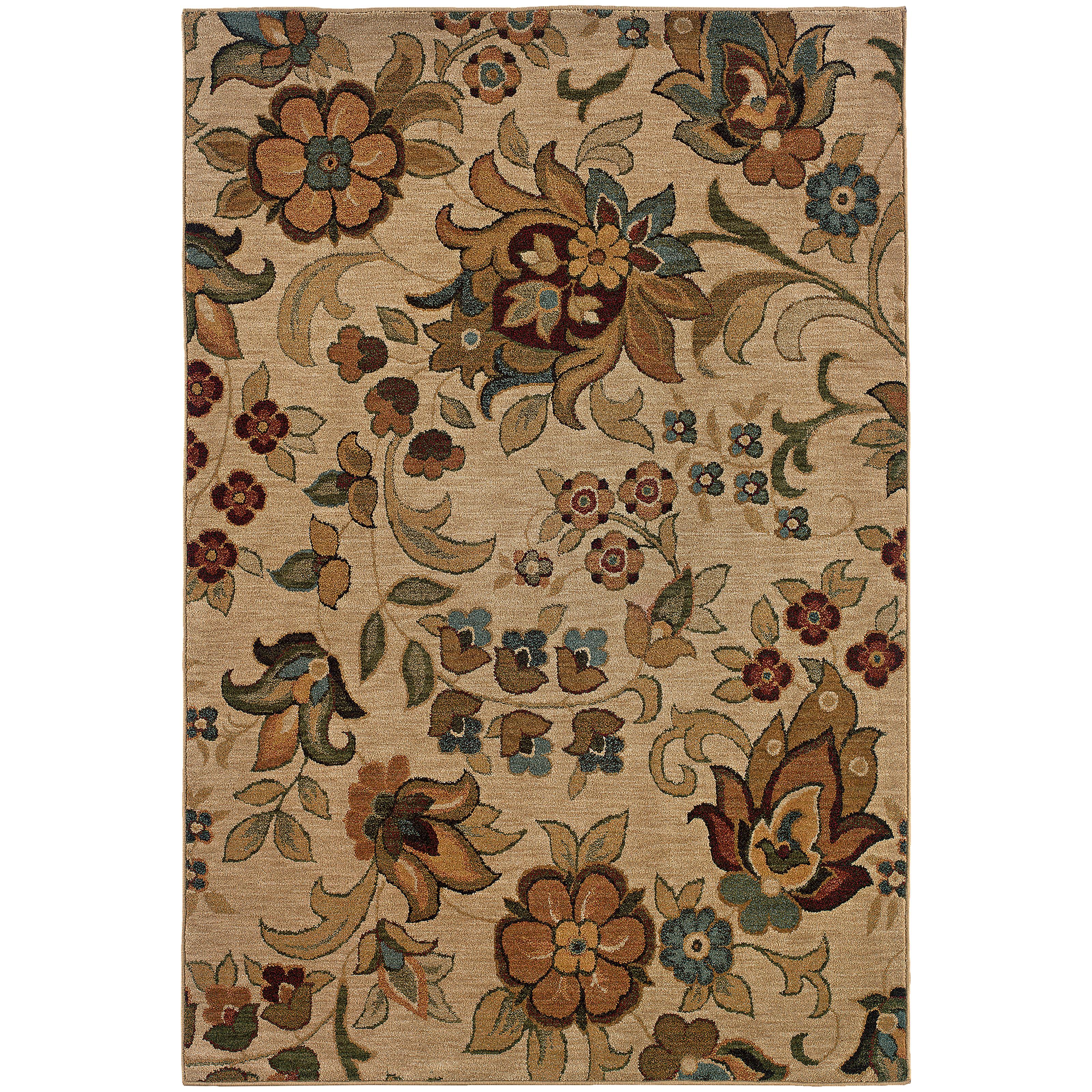 "Oriental Weavers Infinity 5' 3"" X  7' 6"" Rug - Item Number: I1105A160230ST"