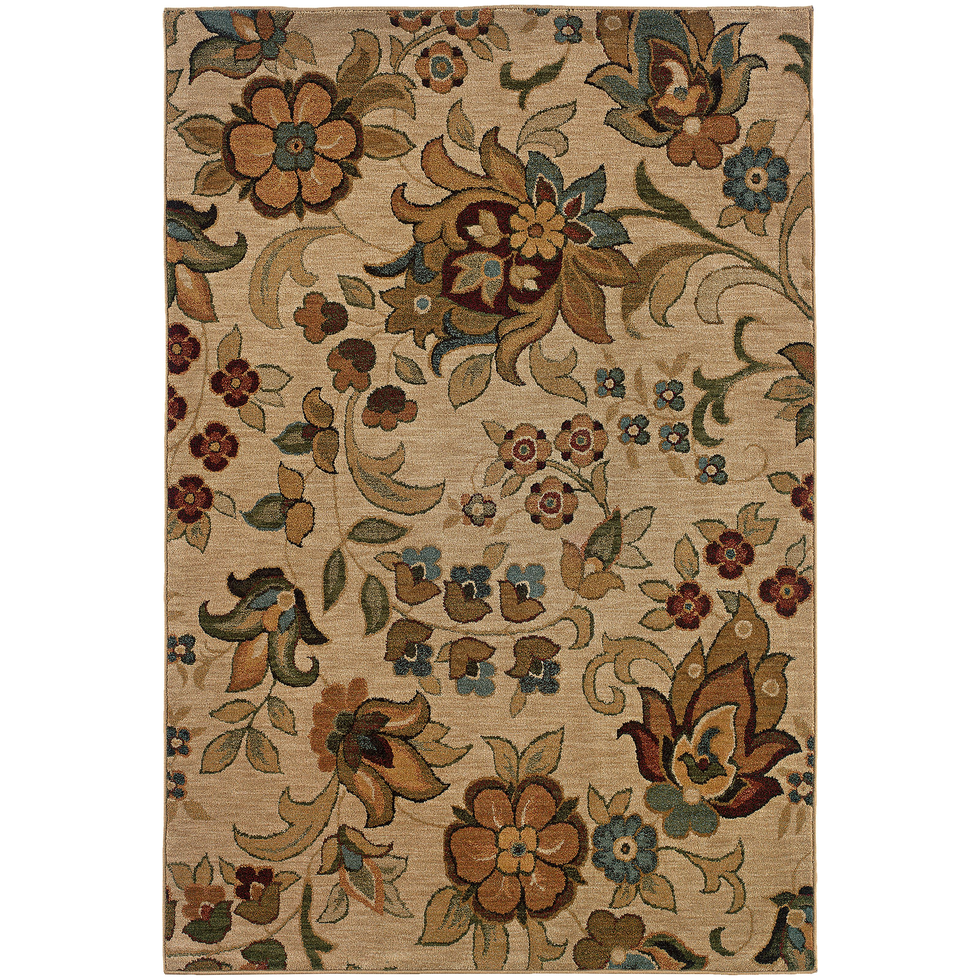 "Oriental Weavers Infinity 9'10"" X 12' 9"" Rug - Item Number: I1105A300390ST"