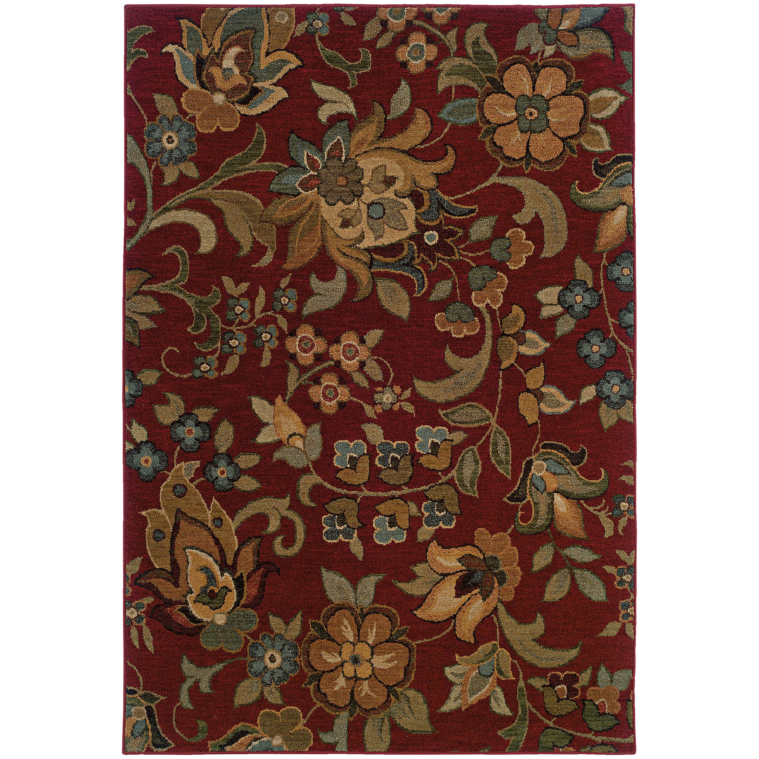 "Oriental Weavers Infinity 3'10"" X  5' 5"" Rug - Item Number: I1105B117165ST"