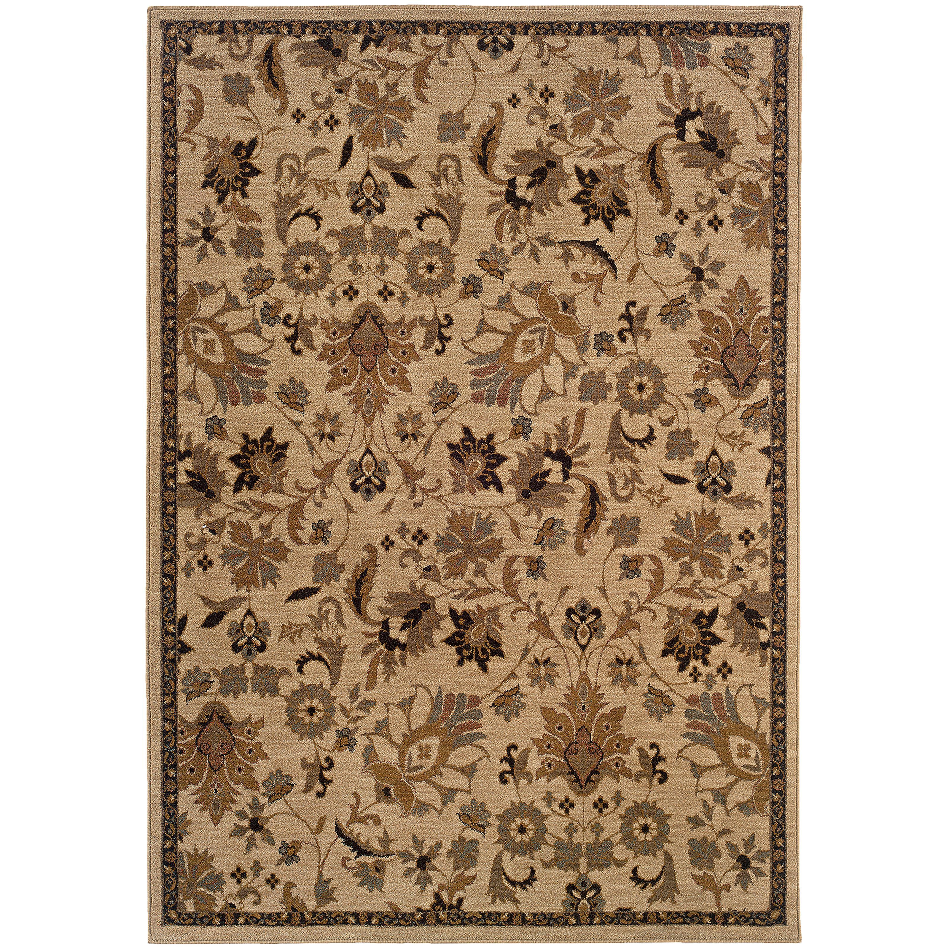 "Oriental Weavers Infinity 3'10"" X  5' 5"" Rug - Item Number: I1115B117165ST"