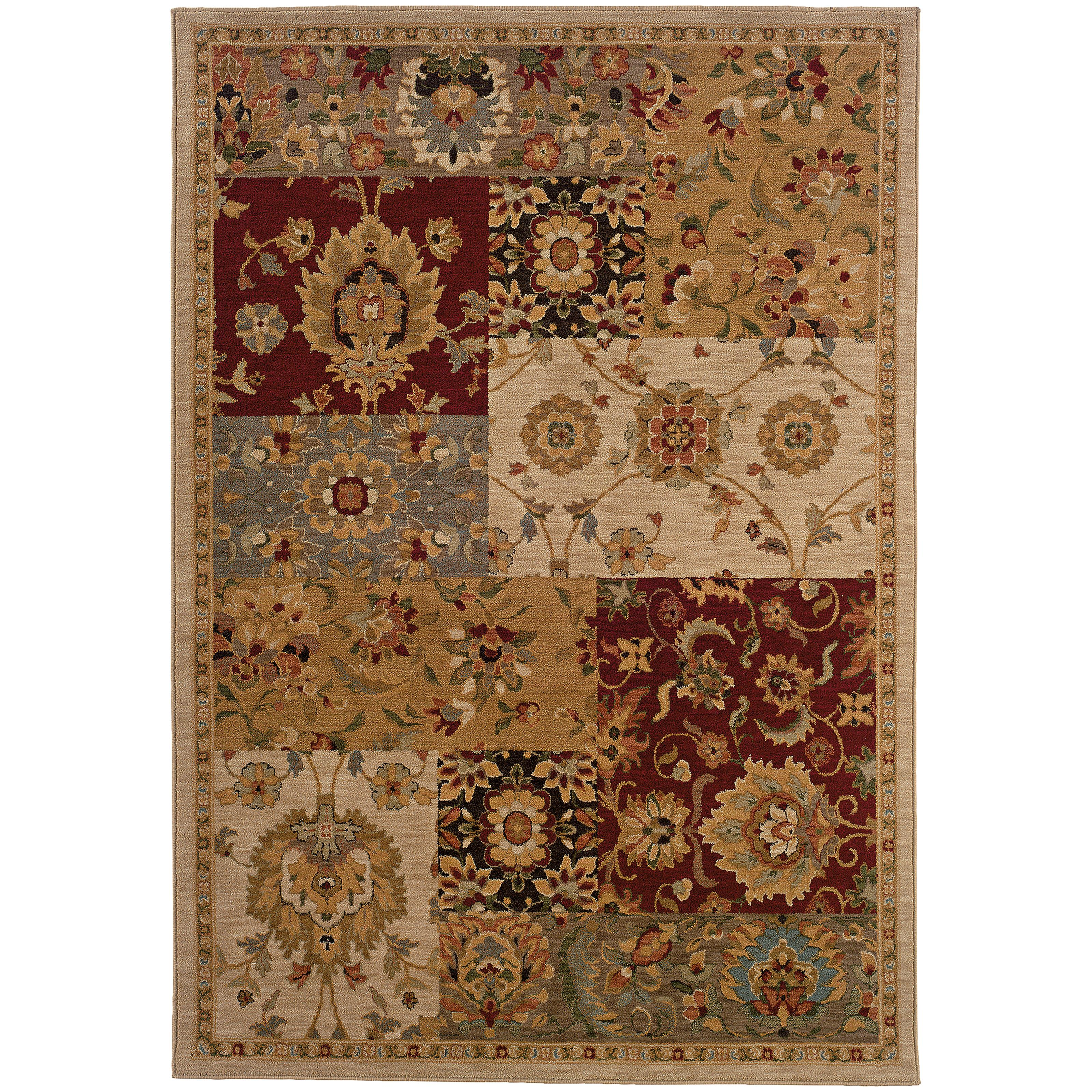 "Oriental Weavers Infinity 3'10"" X  5' 5"" Rug - Item Number: I1128A117165ST"