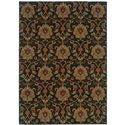 "Oriental Weavers Infinity 3'10"" X  5' 5"" Rug - Item Number: I1724E117165ST"
