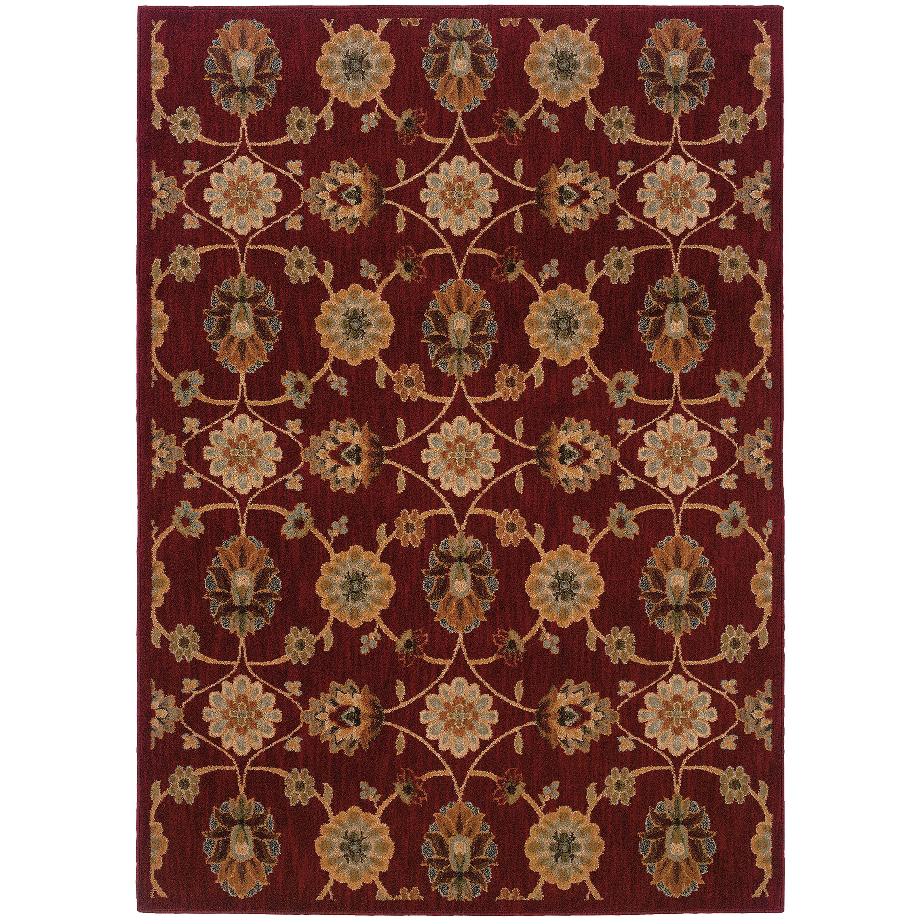 "Oriental Weavers Infinity 7' 8"" X 10'10"" Rug - Item Number: I2166B235330ST"