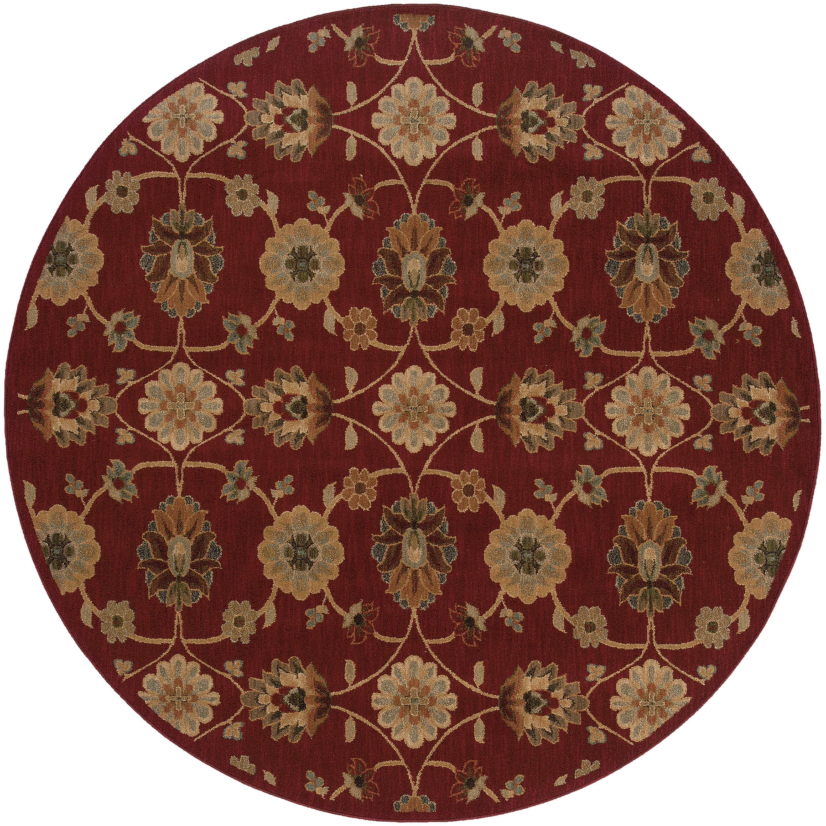 """Oriental Weavers Infinity 7' 8"""" Rug - Item Number: I2166B235RDST"""