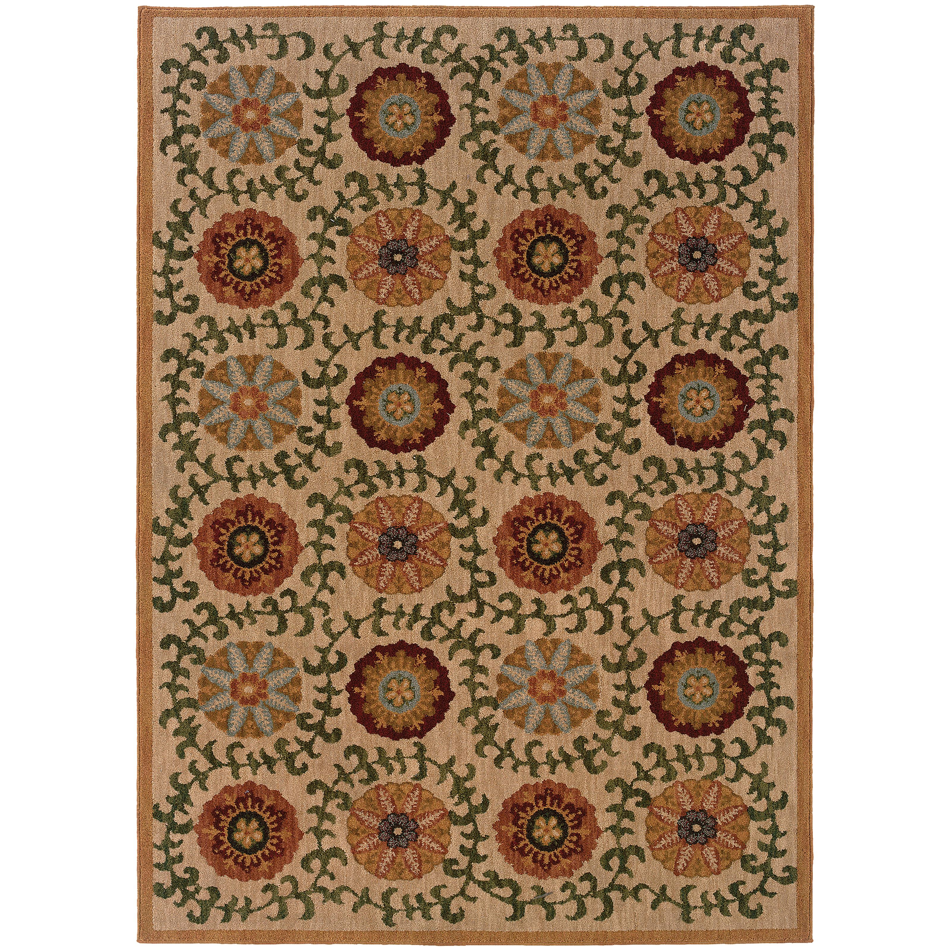"Oriental Weavers Infinity 3'10"" X  5' 5"" Rug - Item Number: I2175E117165ST"