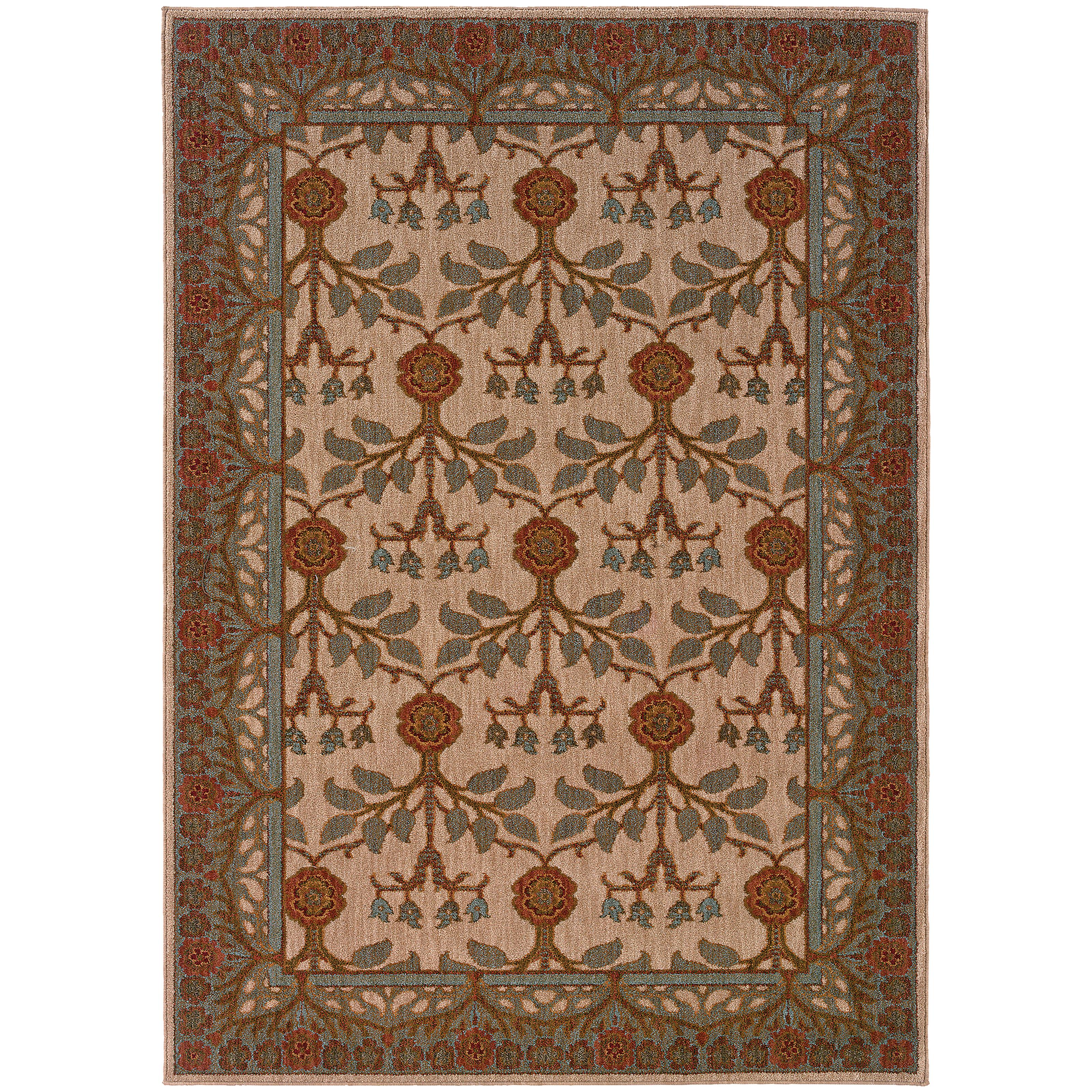 "Oriental Weavers Infinity 3'10"" X  5' 5"" Rug - Item Number: I2177F117165ST"