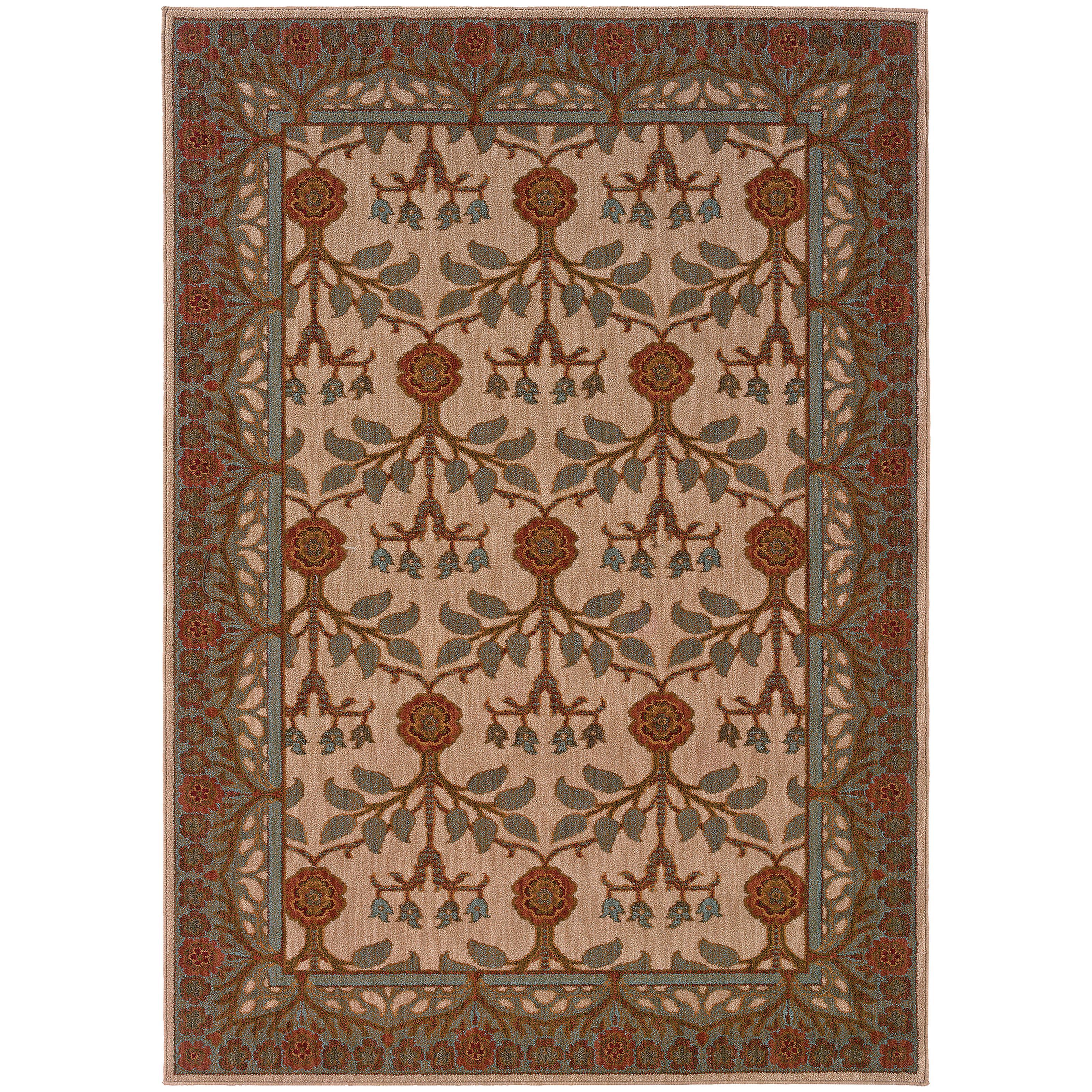 "Oriental Weavers Infinity 5' 3"" X  7' 6"" Rug - Item Number: I2177F160230ST"