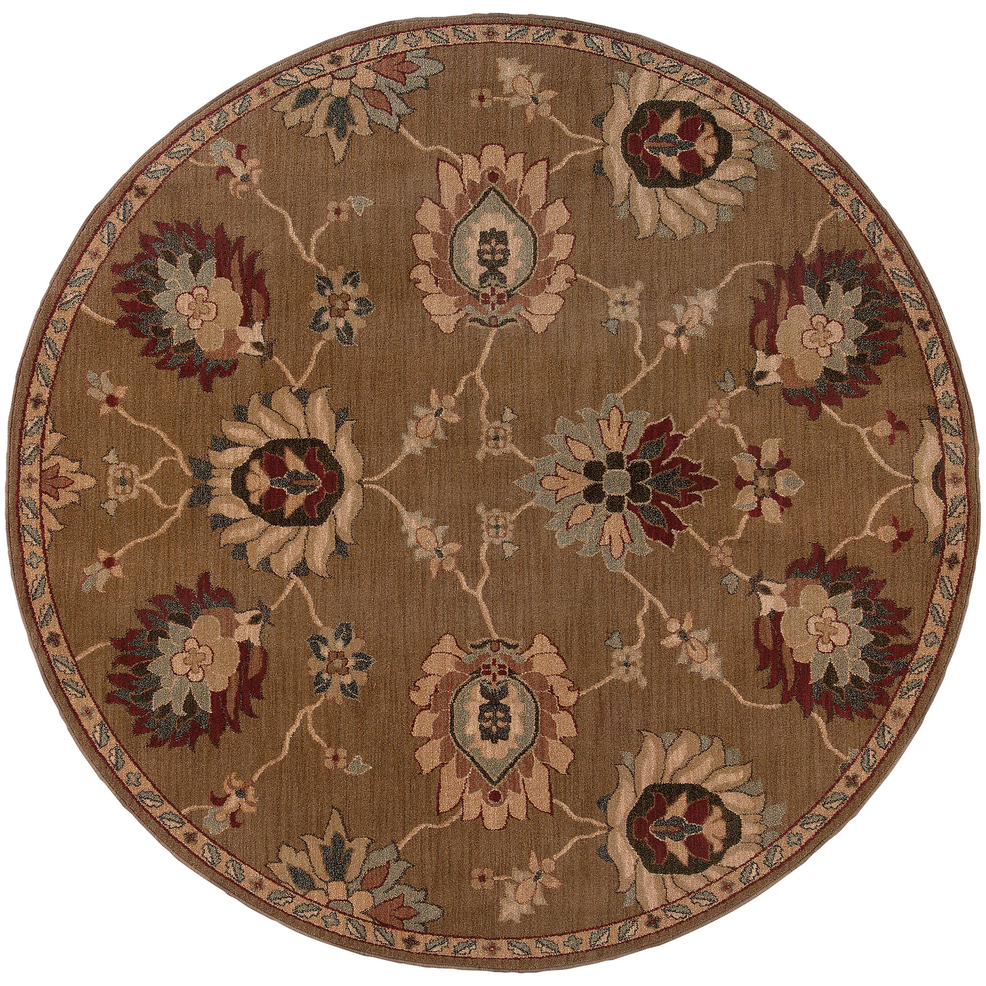 "Oriental Weavers Infinity 7' 8"" Rug - Item Number: I2227D235RDST"