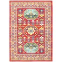 "Oriental Weavers Joli 9'10"" X 12'10"" Traditional Red/ Multi Rectan - Item Number: JOL3R910X1210"