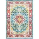 """Oriental Weavers Joli 5' 3"""" X  7' 6"""" Traditional Red/ Multi Rectan - Item Number: JOL502X53X76"""