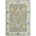 "Oriental Weavers Joli 1'10"" X  3' 0"" Traditional Grey/ Yellow Rect - Item Number: JOL503D110X3"