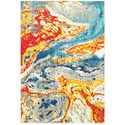 "Oriental Weavers Joli 3'10"" X  5' 5"" Contemporary Stone/ Multi Rec - Item Number: JOL9642H310X55"