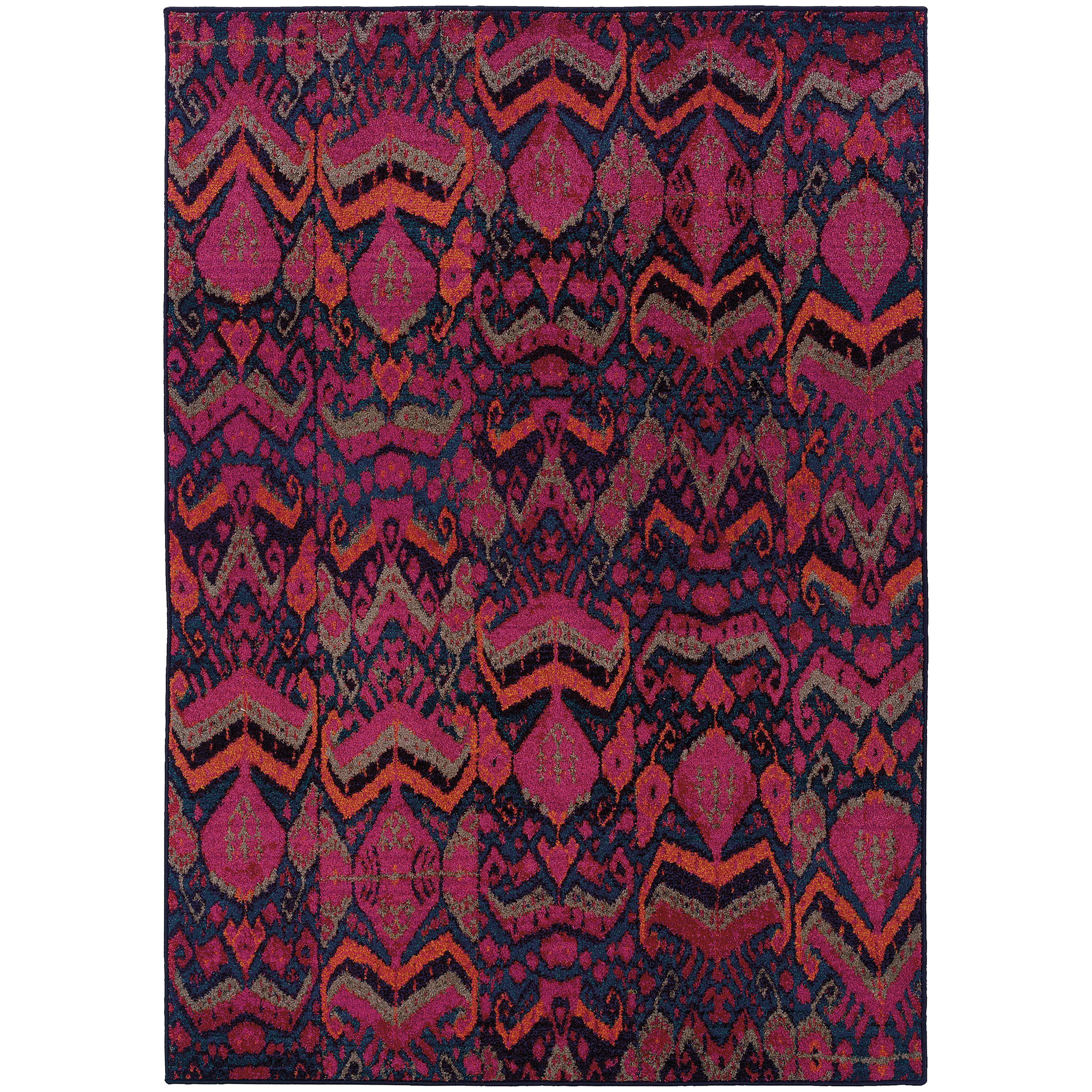 "Oriental Weavers Kaleidoscope 6' 7"" X  9' 1"" Rug - Item Number: K004X5200285ST"