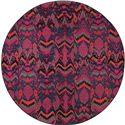 "Oriental Weavers Kaleidoscope 7' 8"" X  7' 8"" Rug - Item Number: K004X5240RDST"