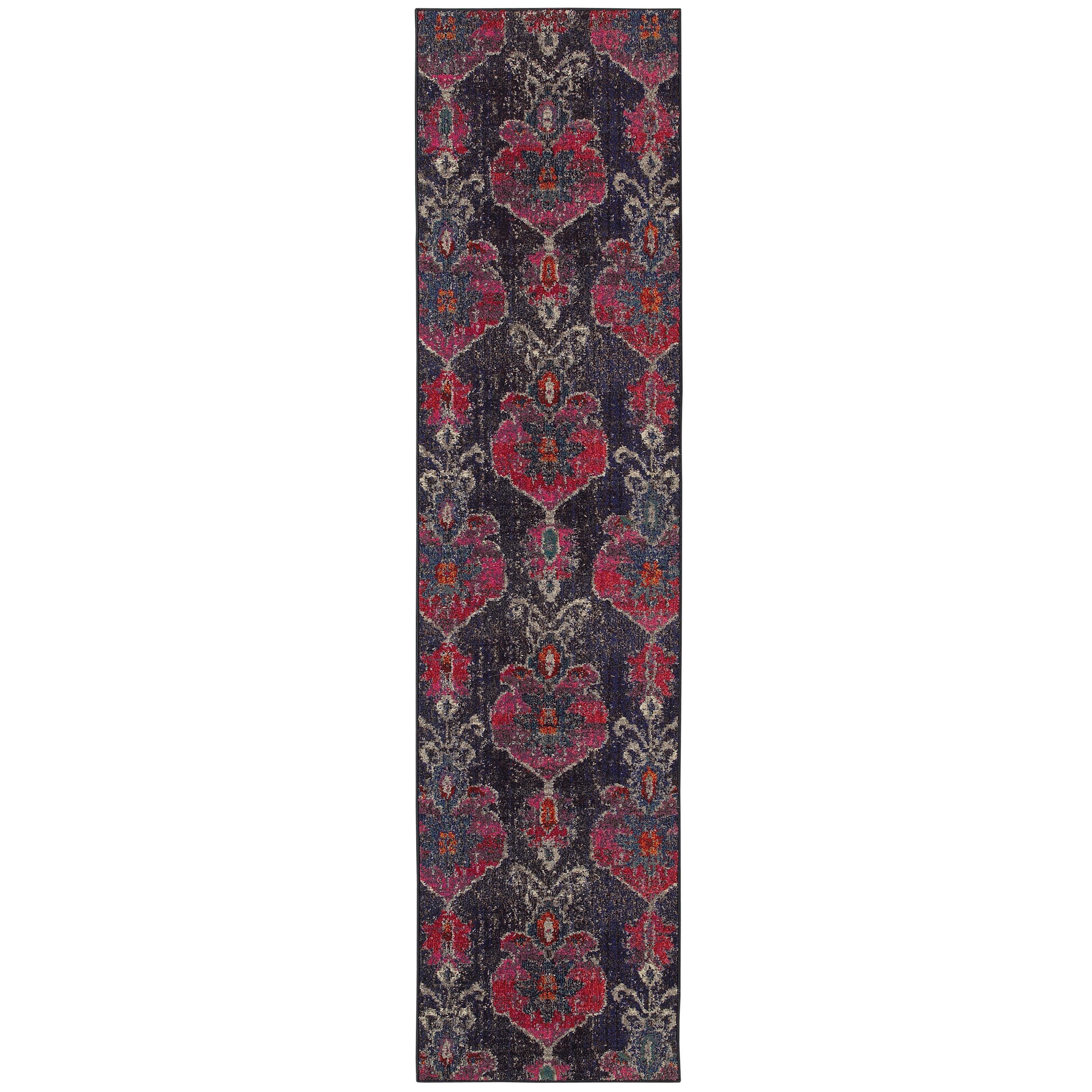 "Oriental Weavers Kaleidoscope 2' 7"" X 10' 0"" Rug - Item Number: K1140V078305ST"