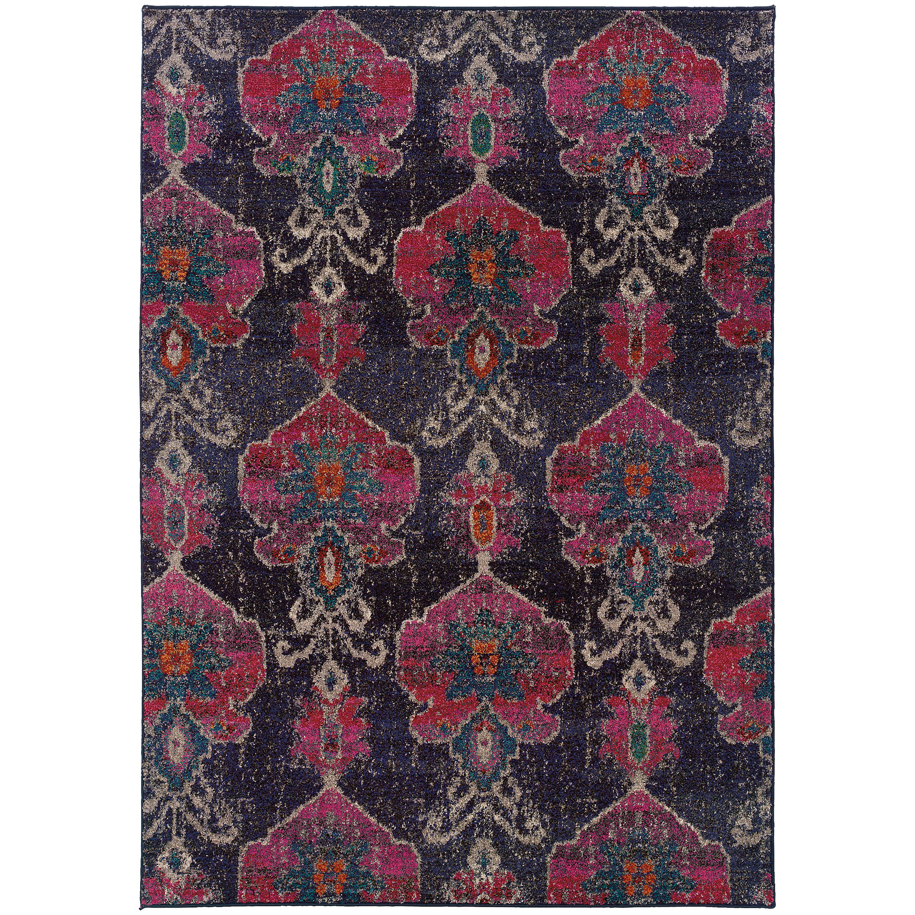 "Oriental Weavers Kaleidoscope 6' 7"" X  9' 1"" Rug - Item Number: K1140V200285ST"