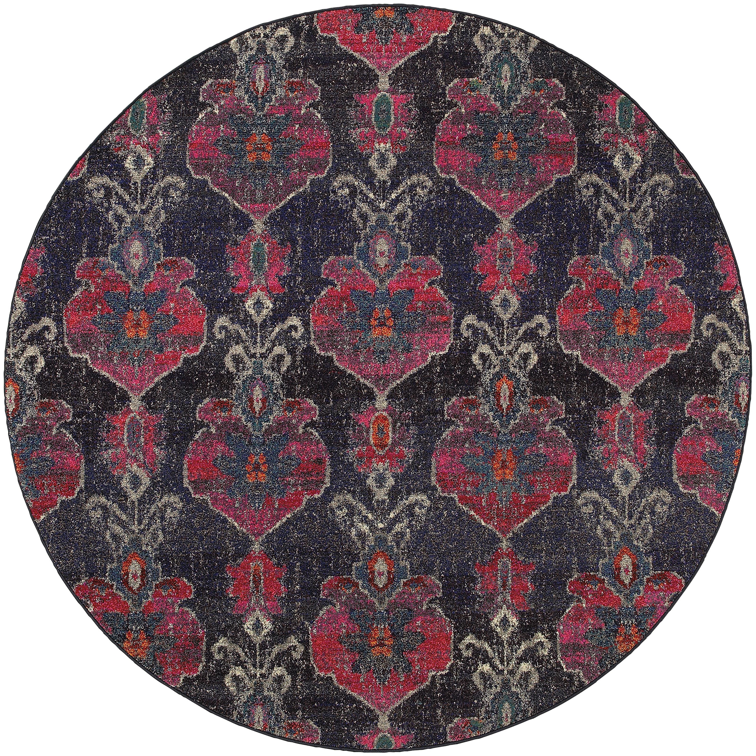 "Oriental Weavers Kaleidoscope 7' 8"" X  7' 8"" Rug - Item Number: K1140V240RDST"