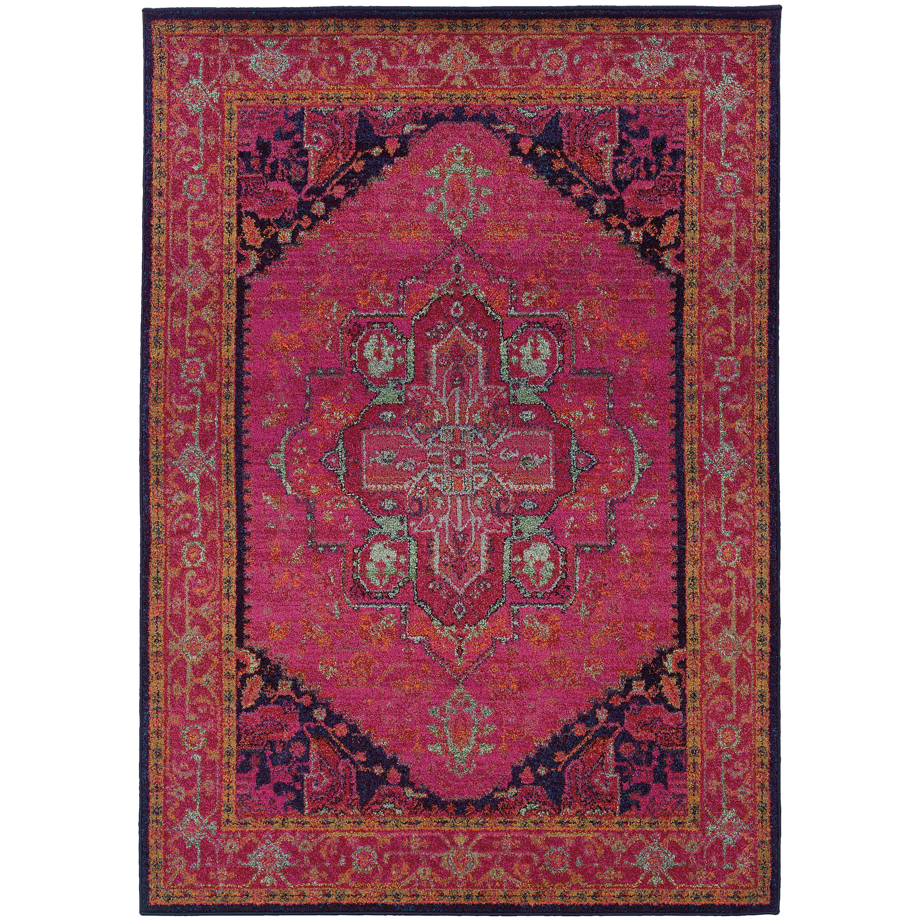 "Oriental Weavers Kaleidoscope 5' 3"" X  7' 6"" Rug - Item Number: K13323S160235ST"