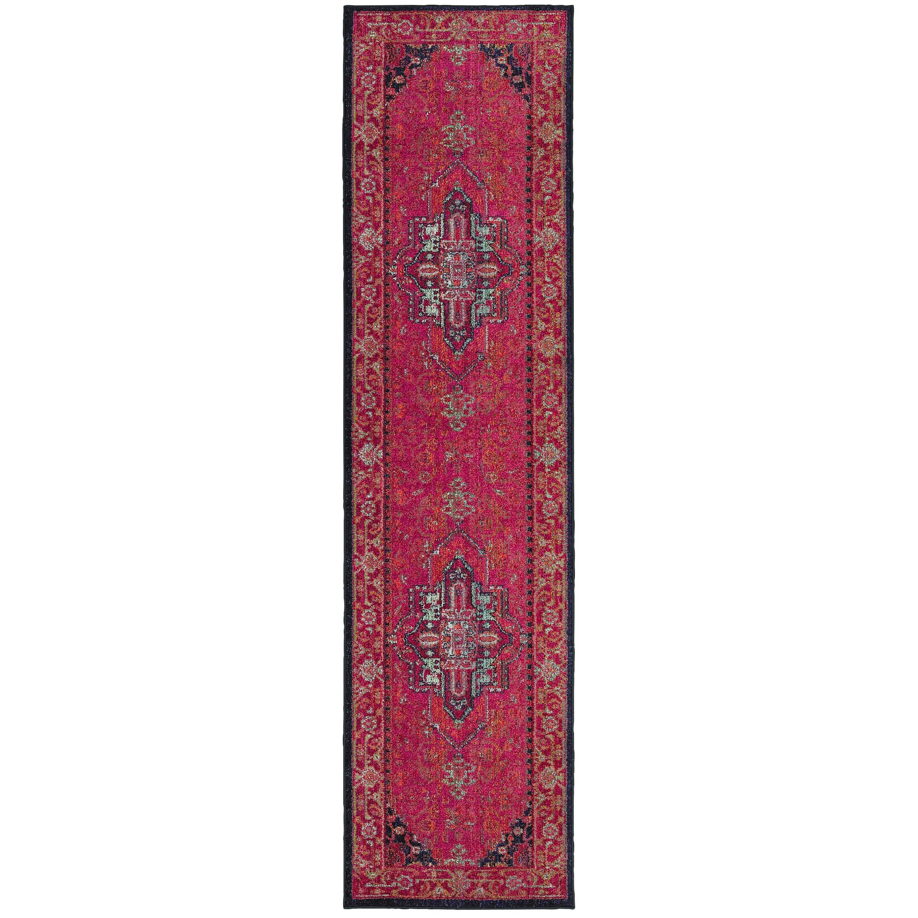 "Oriental Weavers Kaleidoscope 2' 7"" X 10' 0"" Rug - Item Number: K1332S078305ST"