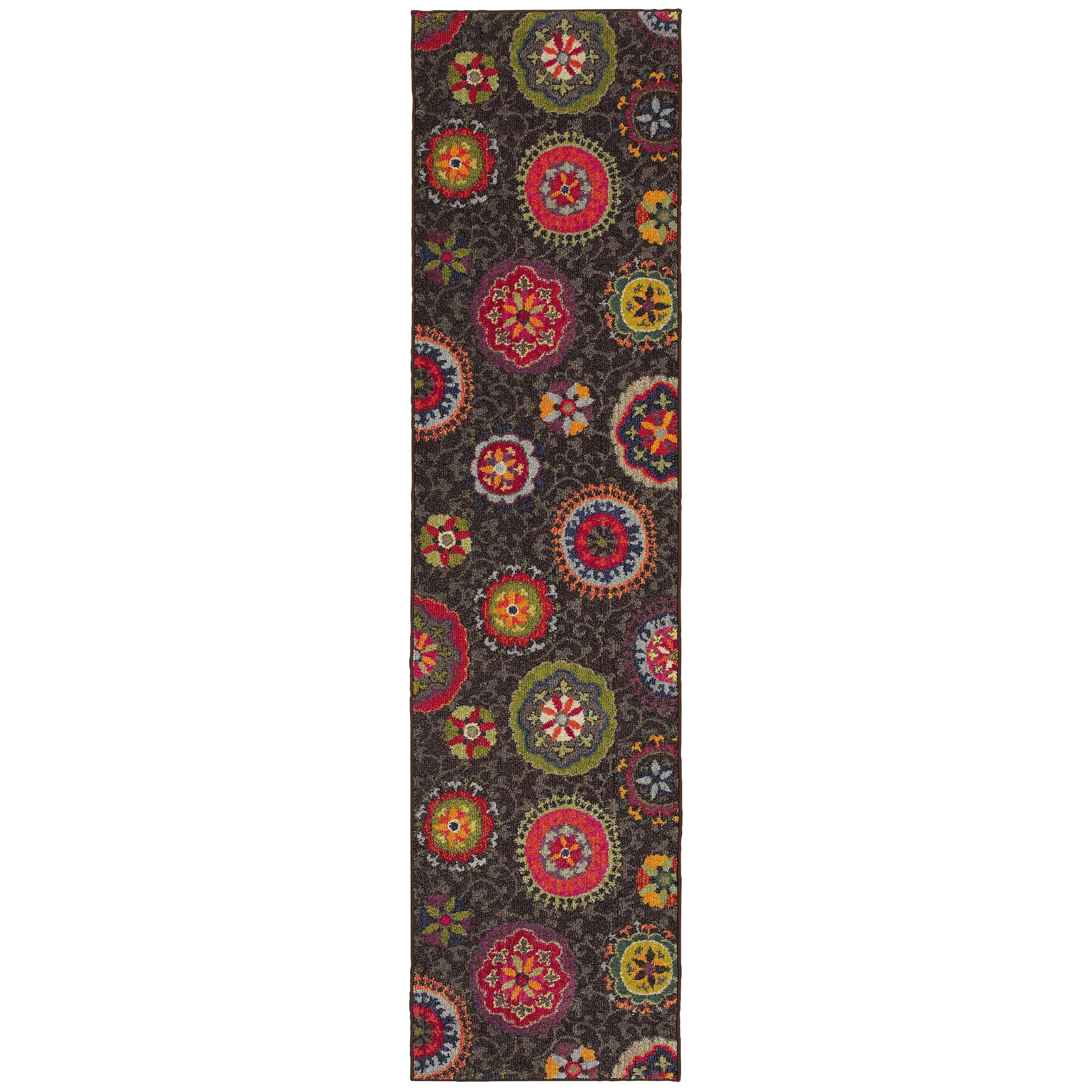 """Oriental Weavers Kaleidoscope 2' 7"""" X 10' 0"""" Rug - Item Number: K1333N078305ST"""