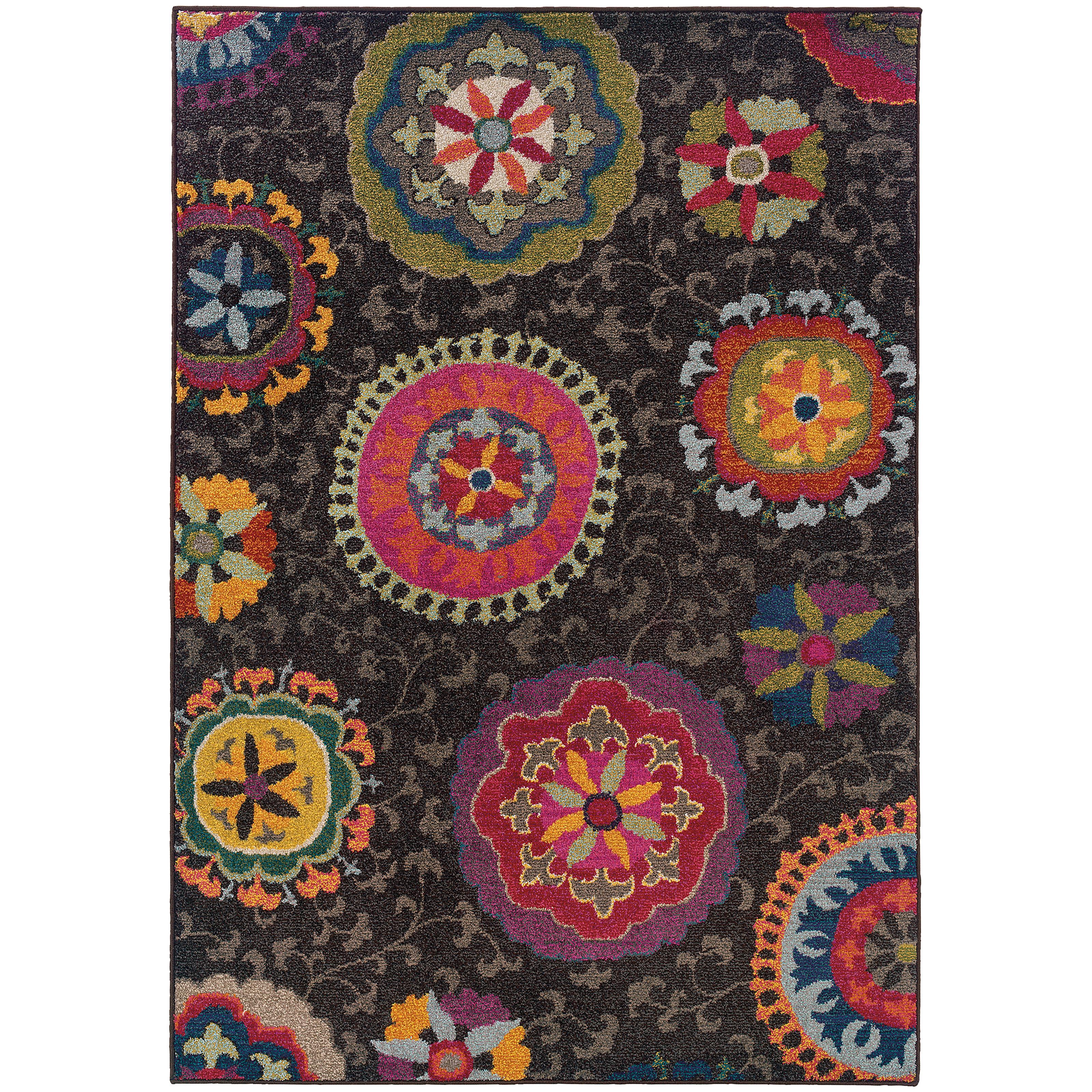 """Oriental Weavers Kaleidoscope 4' 0"""" X  5' 9"""" Rug - Item Number: K1333N120180ST"""