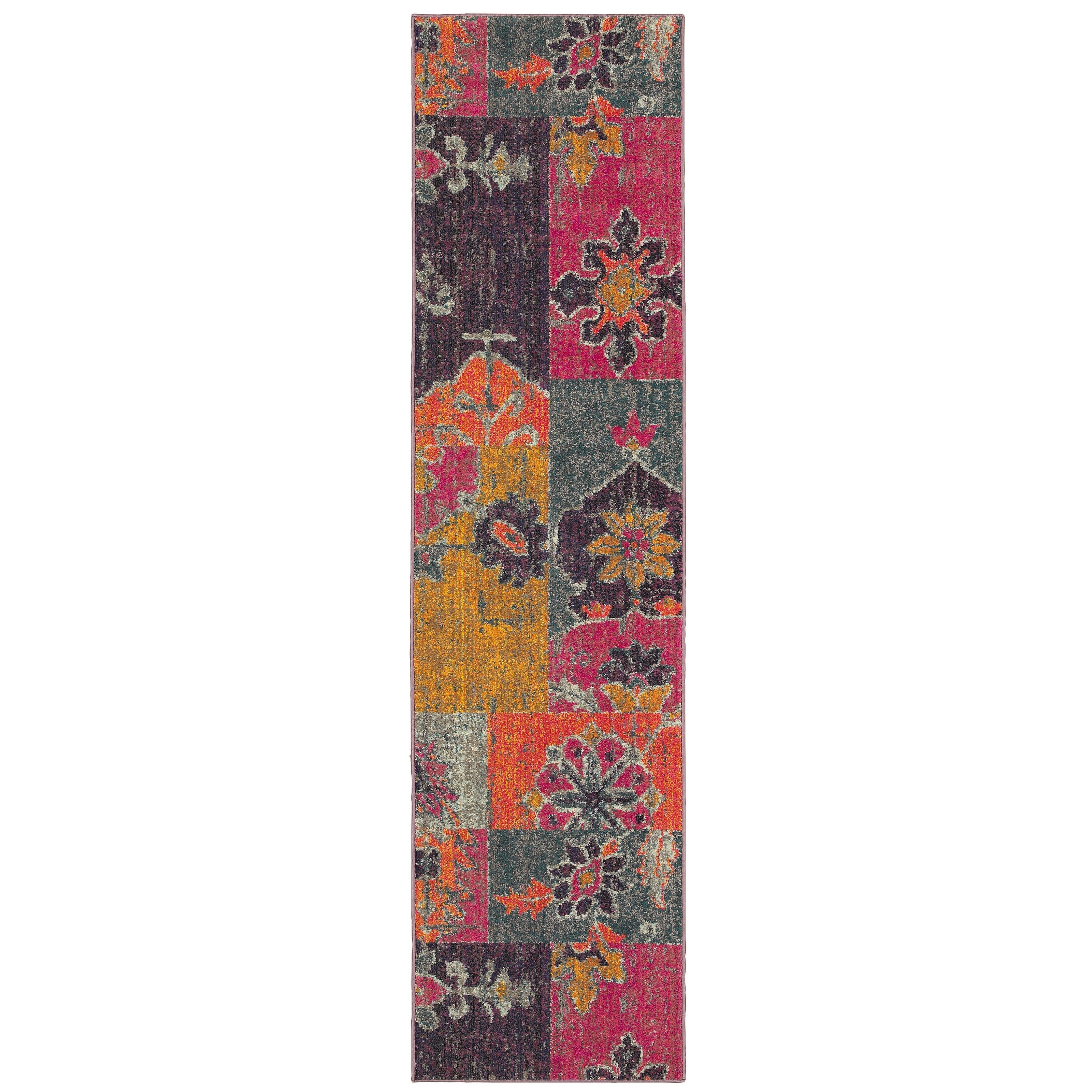 "Oriental Weavers Kaleidoscope 2' 7"" X 10' 0"" Rug - Item Number: K2060V078305ST"
