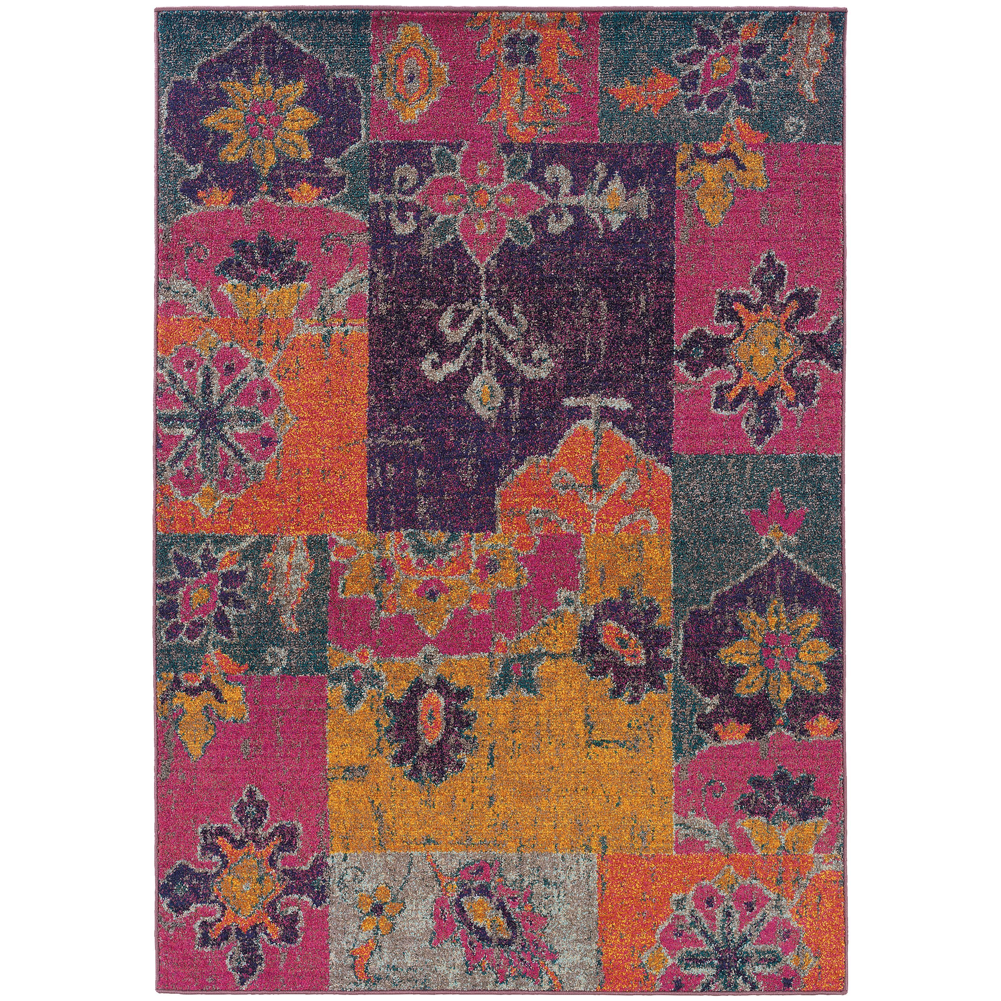 "Oriental Weavers Kaleidoscope 5' 3"" X  7' 6"" Rug - Item Number: K2060V160235ST"