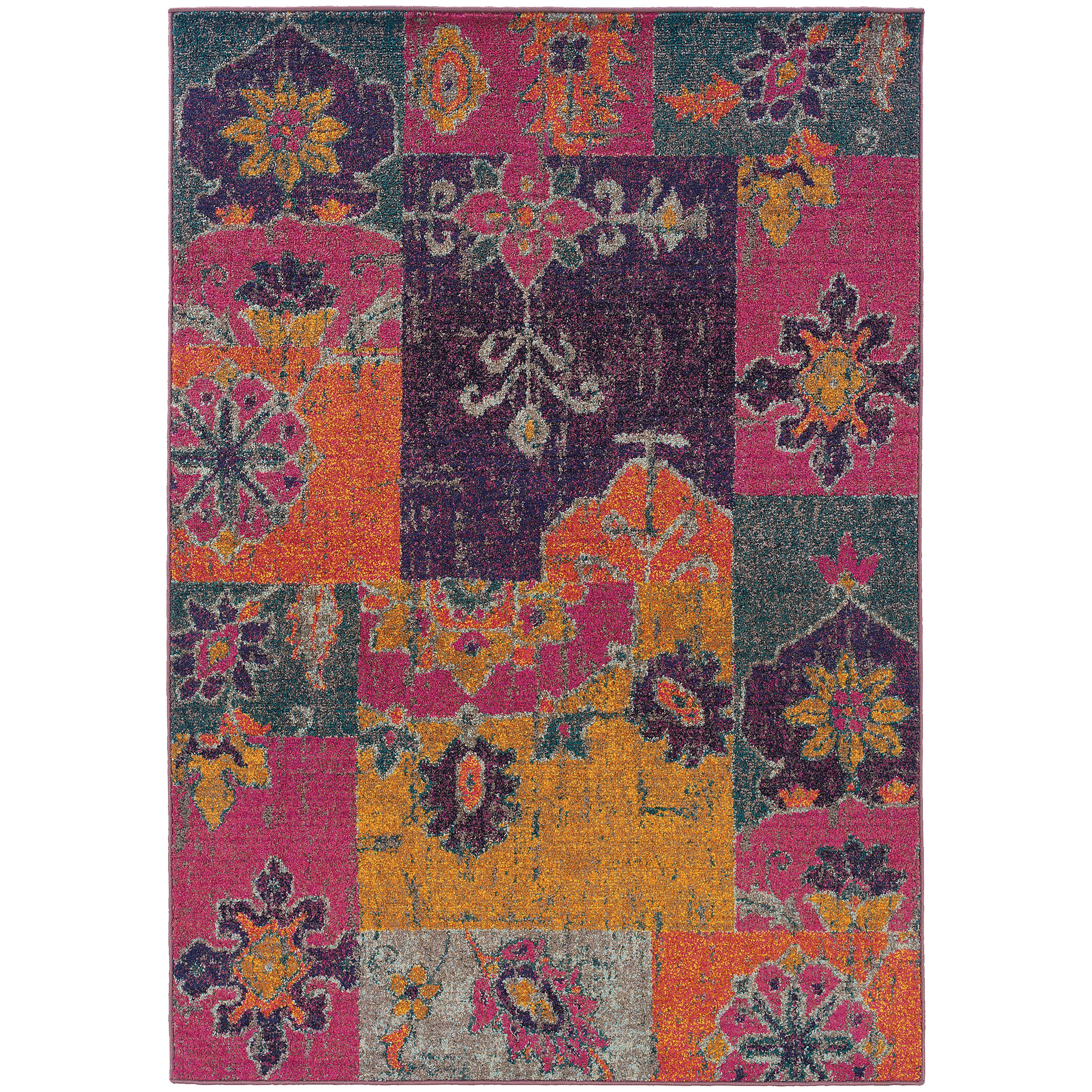 "Oriental Weavers Kaleidoscope 9' 9"" X 12' 2"" Rug - Item Number: K2060V300380ST"