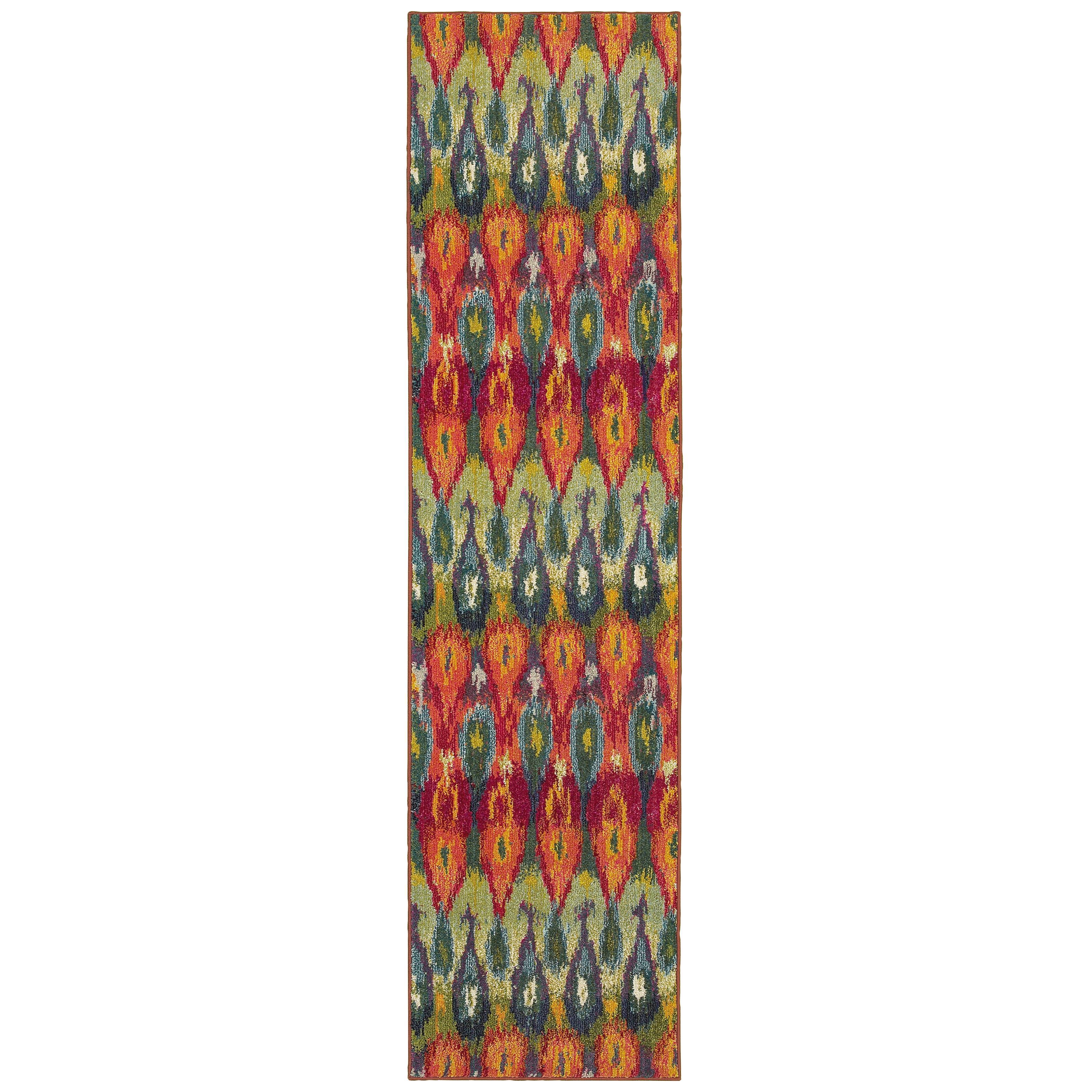 "Oriental Weavers Kaleidoscope 2' 7"" X 10' 0"" Rug - Item Number: K2061Z078305ST"