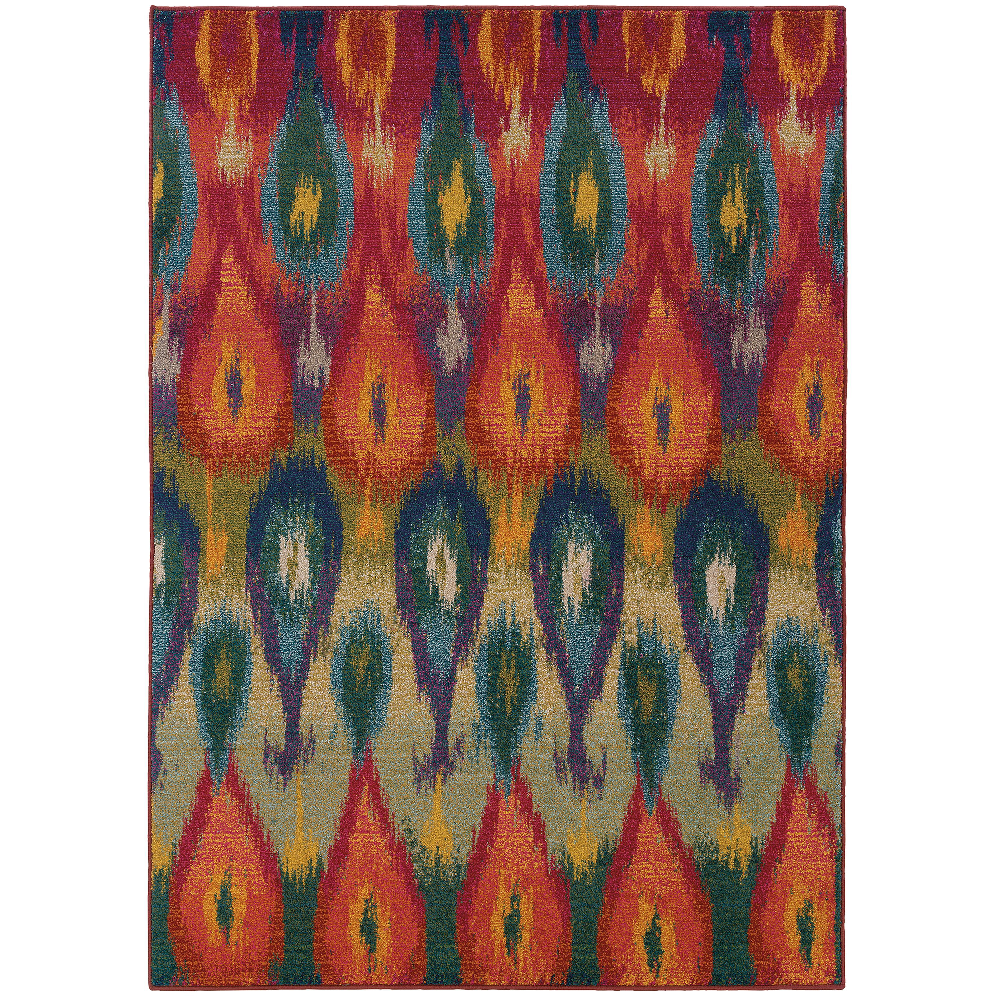 "Oriental Weavers Kaleidoscope 5' 3"" X  7' 6"" Rug - Item Number: K2061Z160235ST"