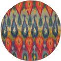 "Oriental Weavers Kaleidoscope 7' 8"" X  7' 8"" Rug - Item Number: K2061Z240RDST"