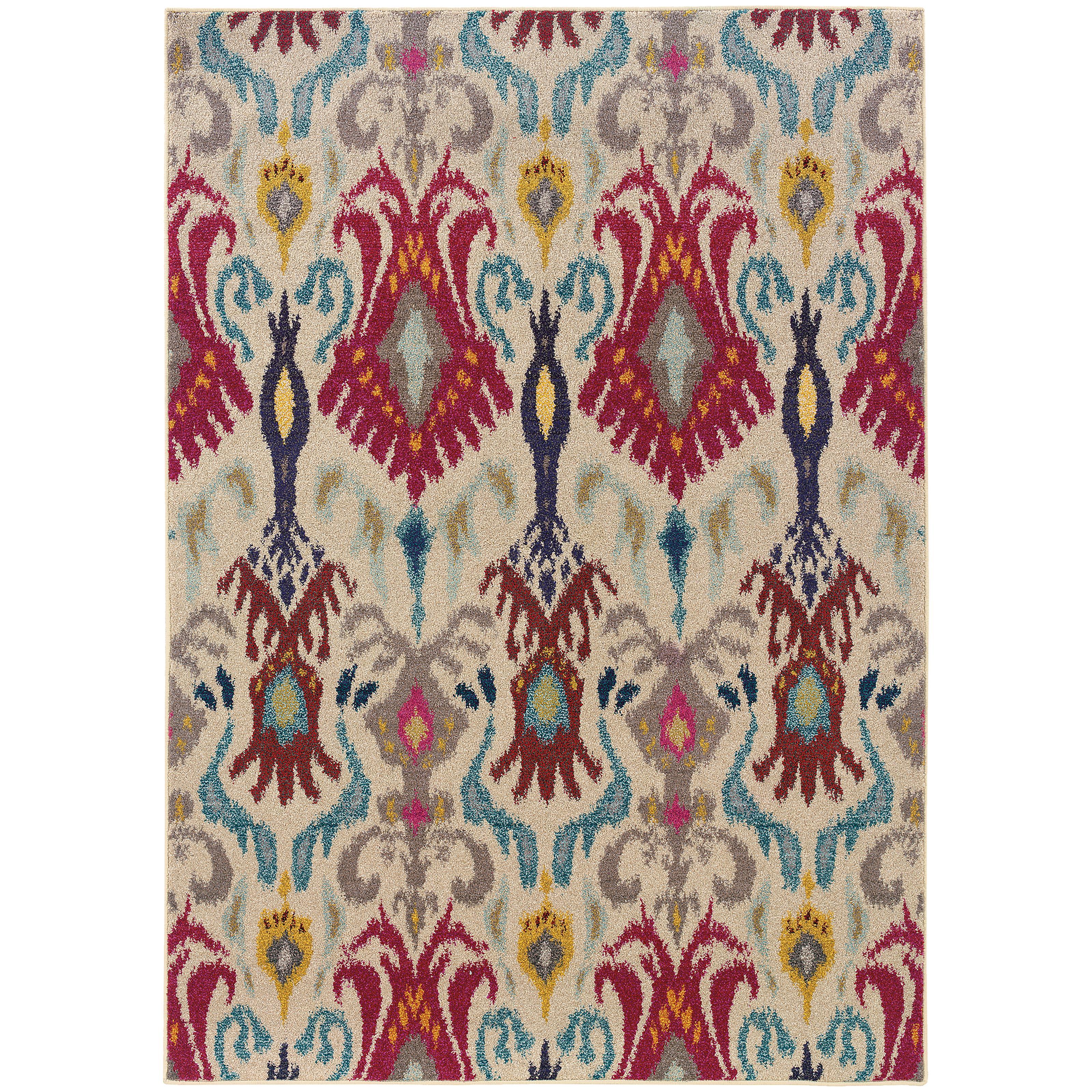 "Oriental Weavers Kaleidoscope 5' 3"" X  7' 6"" Rug - Item Number: K502I5160235ST"