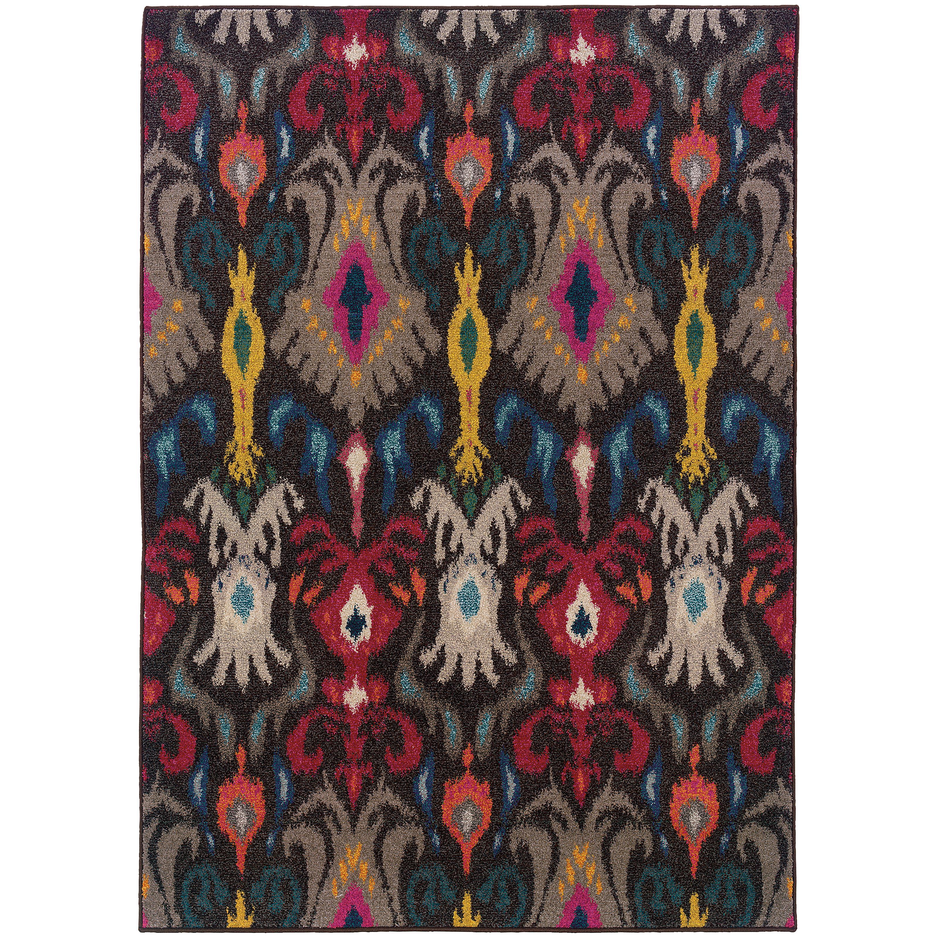 "Oriental Weavers Kaleidoscope 5' 3"" X  7' 6"" Rug - Item Number: K502X5160235ST"