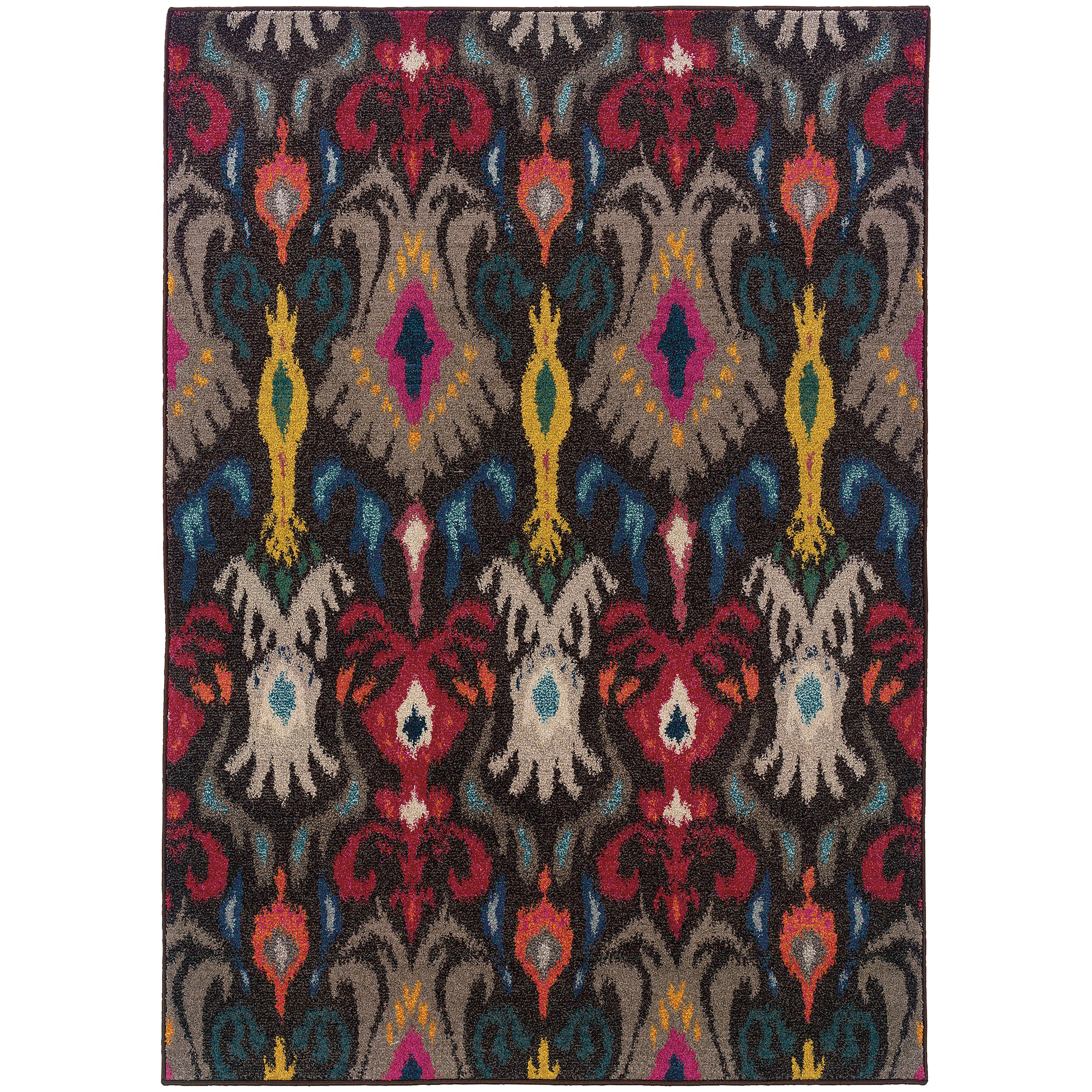 "Oriental Weavers Kaleidoscope 7'10"" X 10'10"" Rug - Item Number: K502X5240340ST"