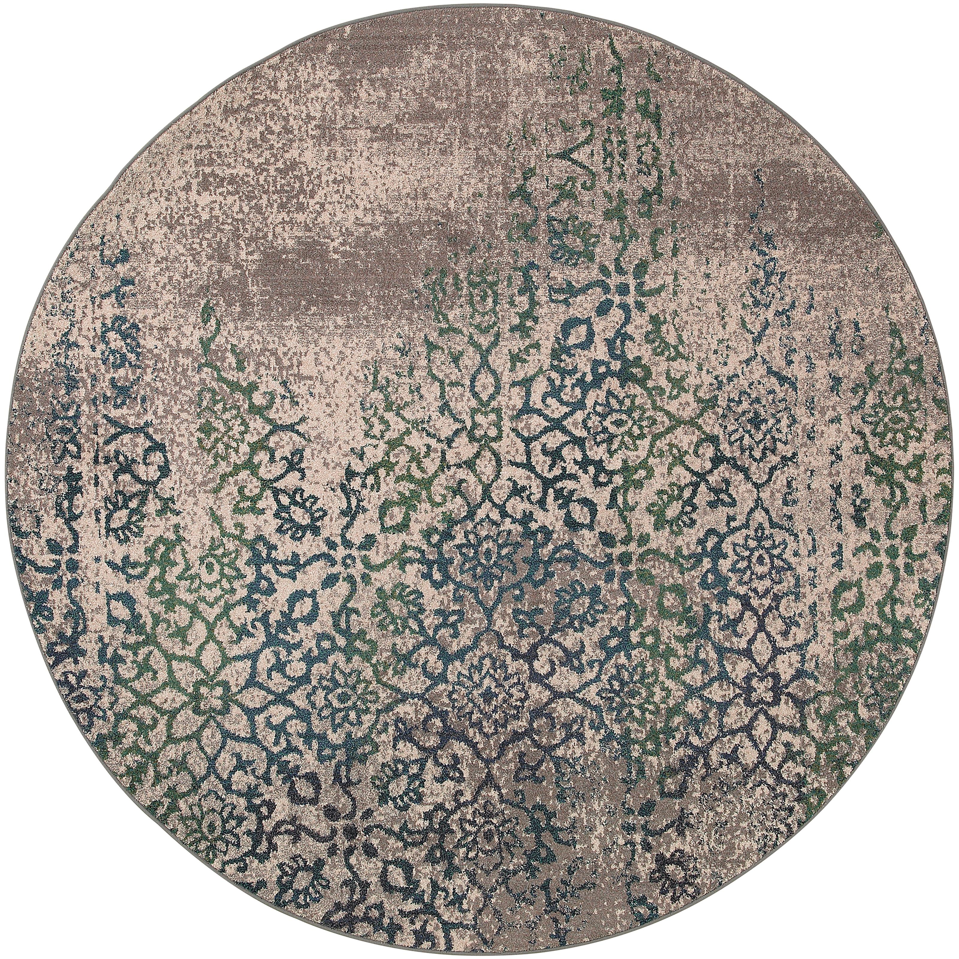 "Oriental Weavers Kaleidoscope 7' 8"" X  7' 8"" Rug - Item Number: K504D5240RDST"