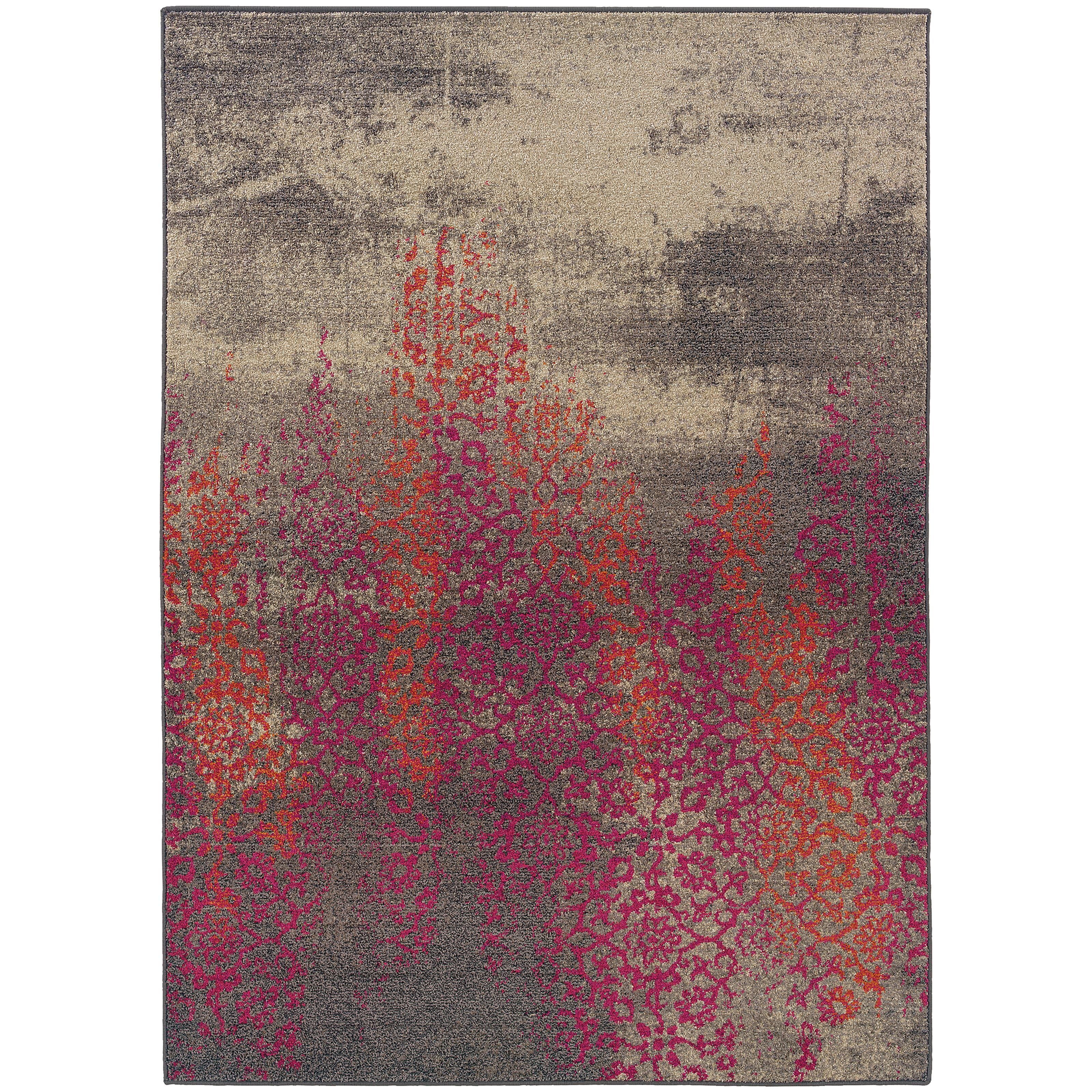 "Oriental Weavers Kaleidoscope 4' 0"" X  5' 9"" Rug - Item Number: K504J5120180ST"
