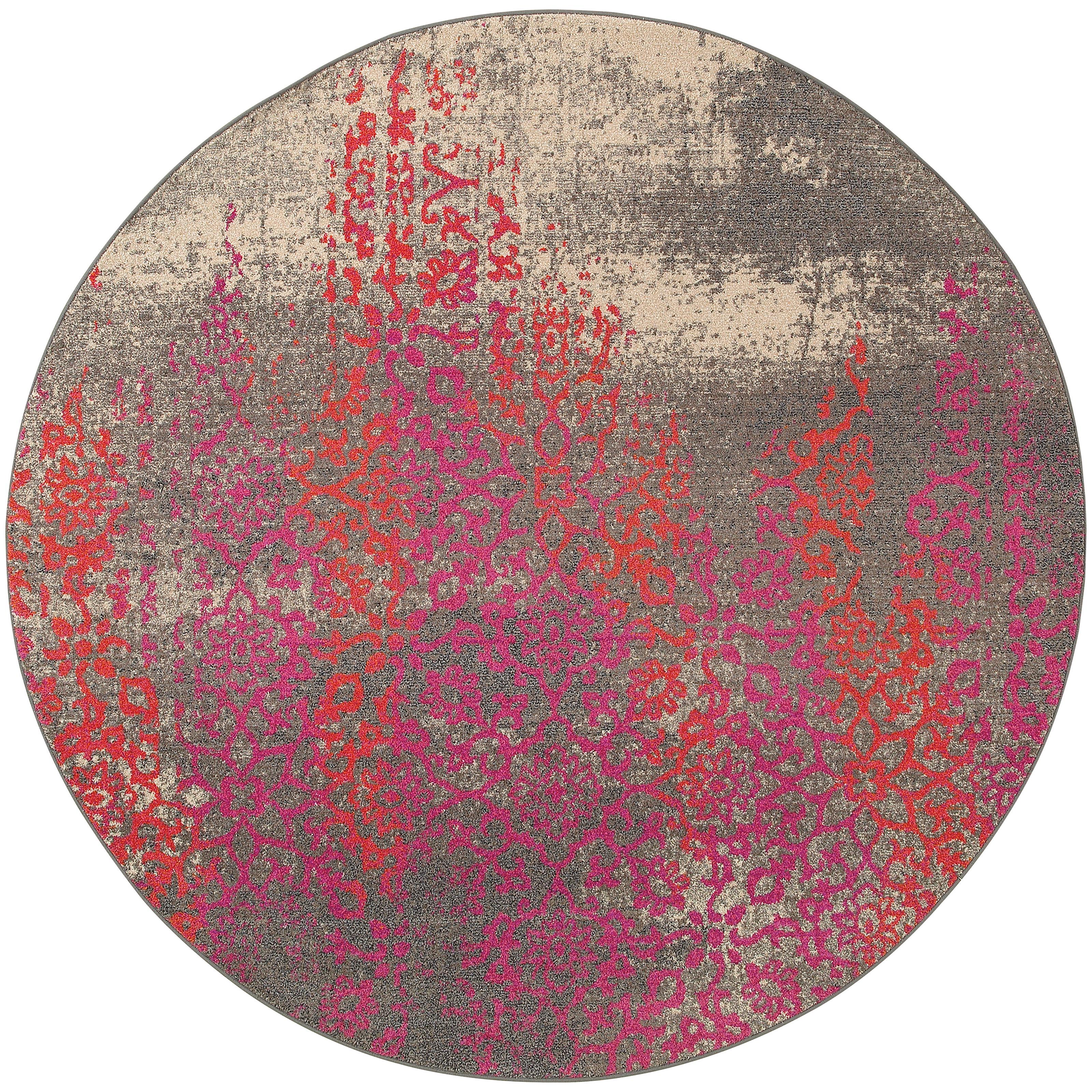 """Oriental Weavers Kaleidoscope 7' 8"""" X  7' 8"""" Rug - Item Number: K504J5240RDST"""