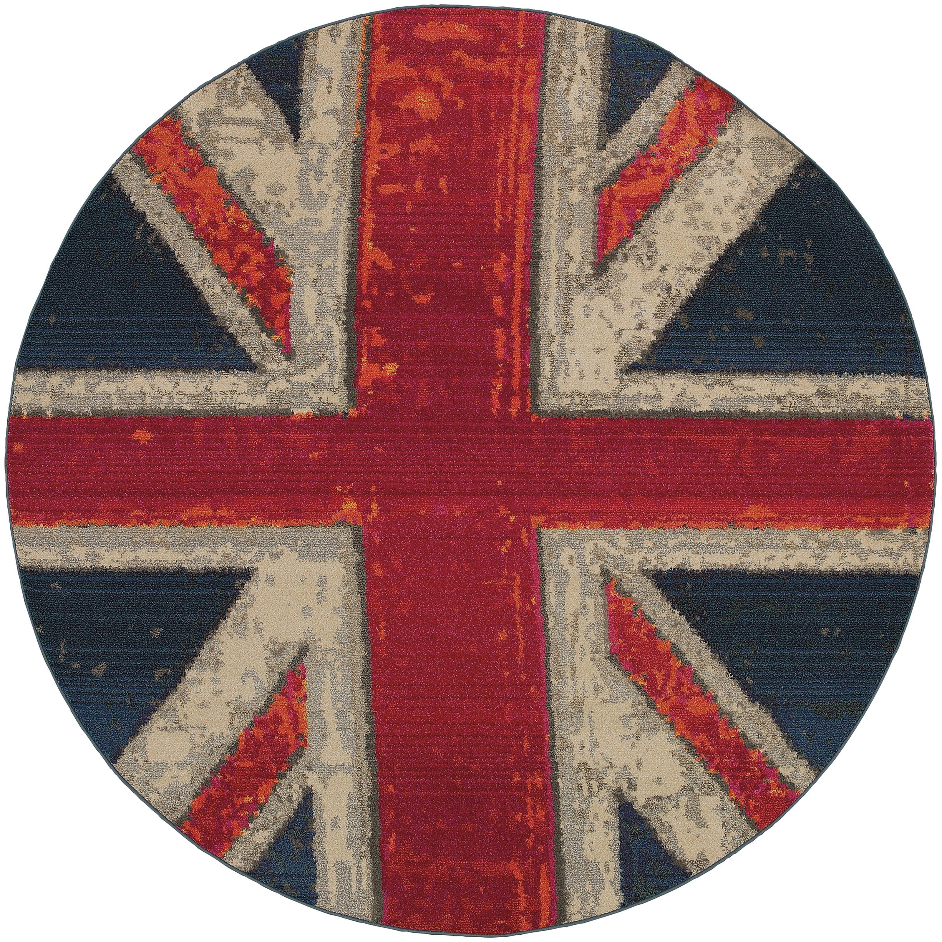 """Oriental Weavers Kaleidoscope 7' 8"""" X  7' 8"""" Rug - Item Number: K505R5240RDST"""