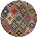 "Oriental Weavers Kaleidoscope 7' 8"" X  7' 8"" Rug - Item Number: K5990E240RDST"